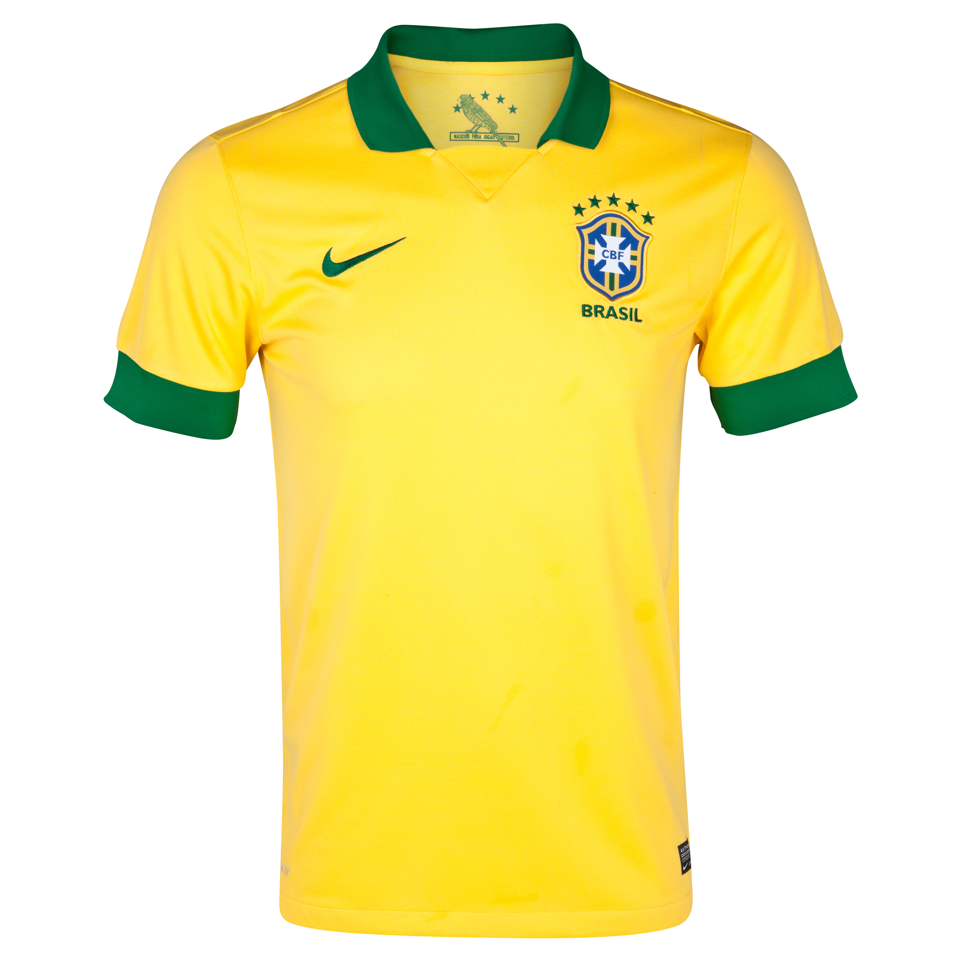 Brazil Home Shirt 2013/14 Youths