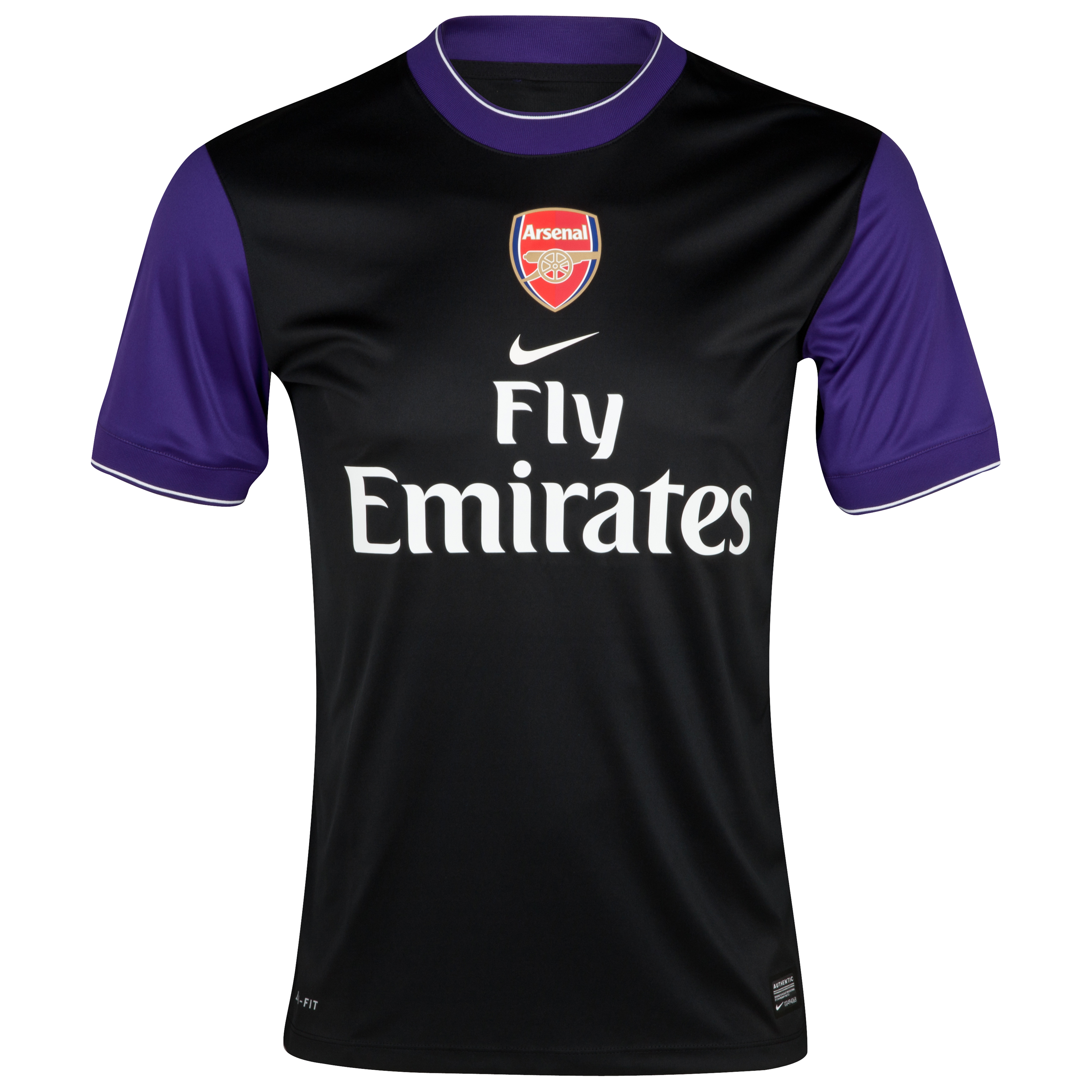 Arsenal Pre Match Top II - Black/Court Purple/White