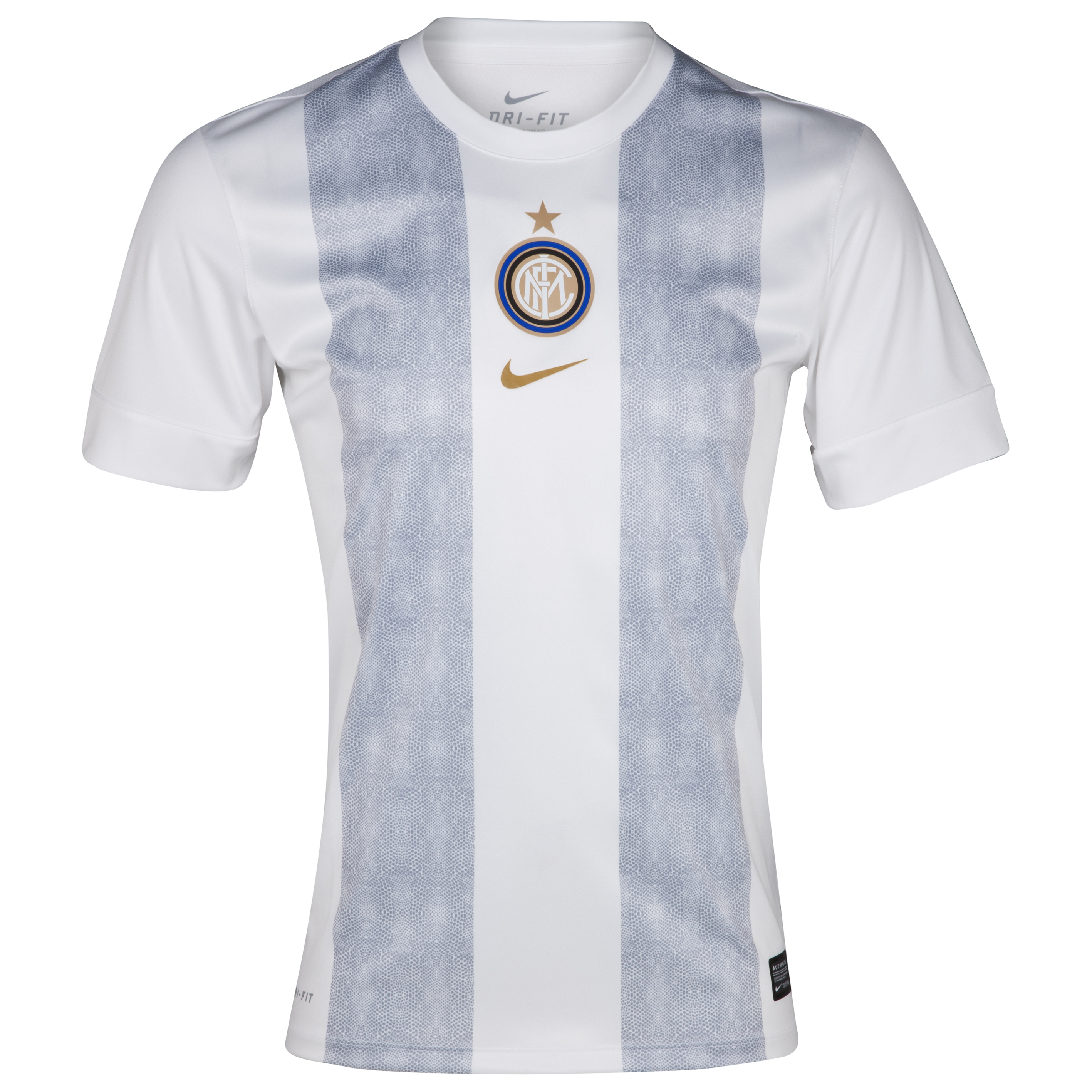 Inter Milan Pre MatchTop II - White/Metallic Gold
