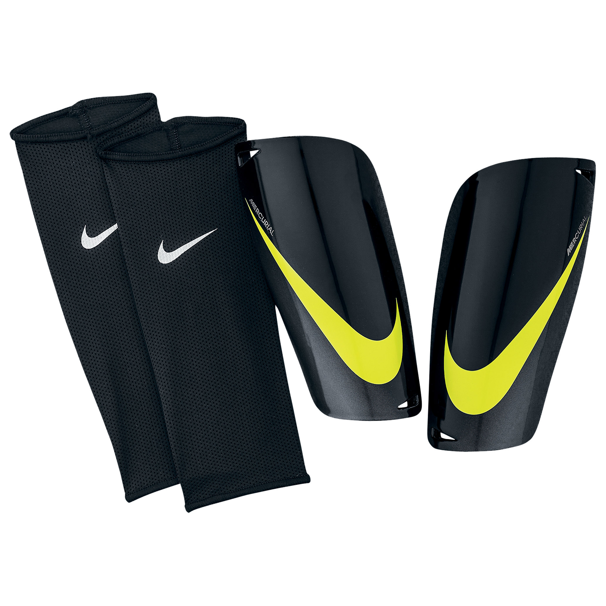 Nike Mercurial Lite Shinpads - Black/Grey/Yellow