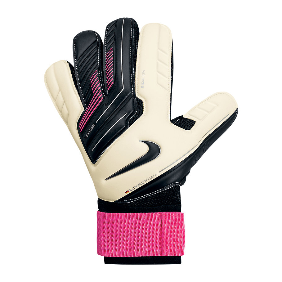 Nike Premier SGT Goalkeeper Gloves - White/Pink Flash/Black