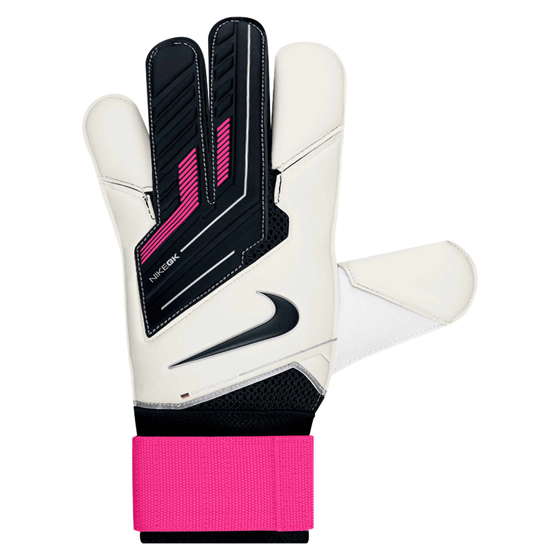 Nike Vapor Grip 3 Goalkeeper Gloves - White/Pink Flash/Black