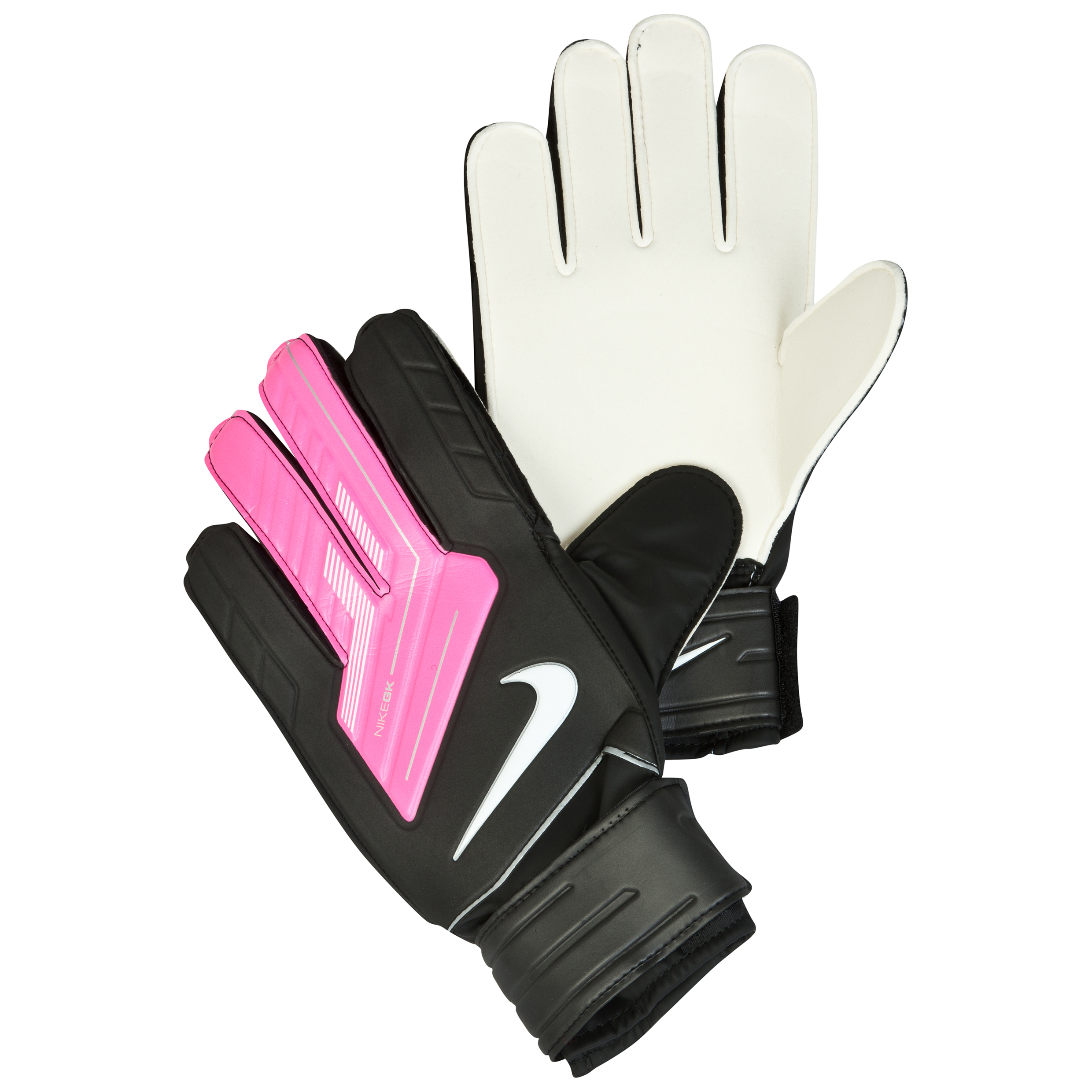 Nike Match Goalkeeper Gloves - Black/Pink Flash/(White)