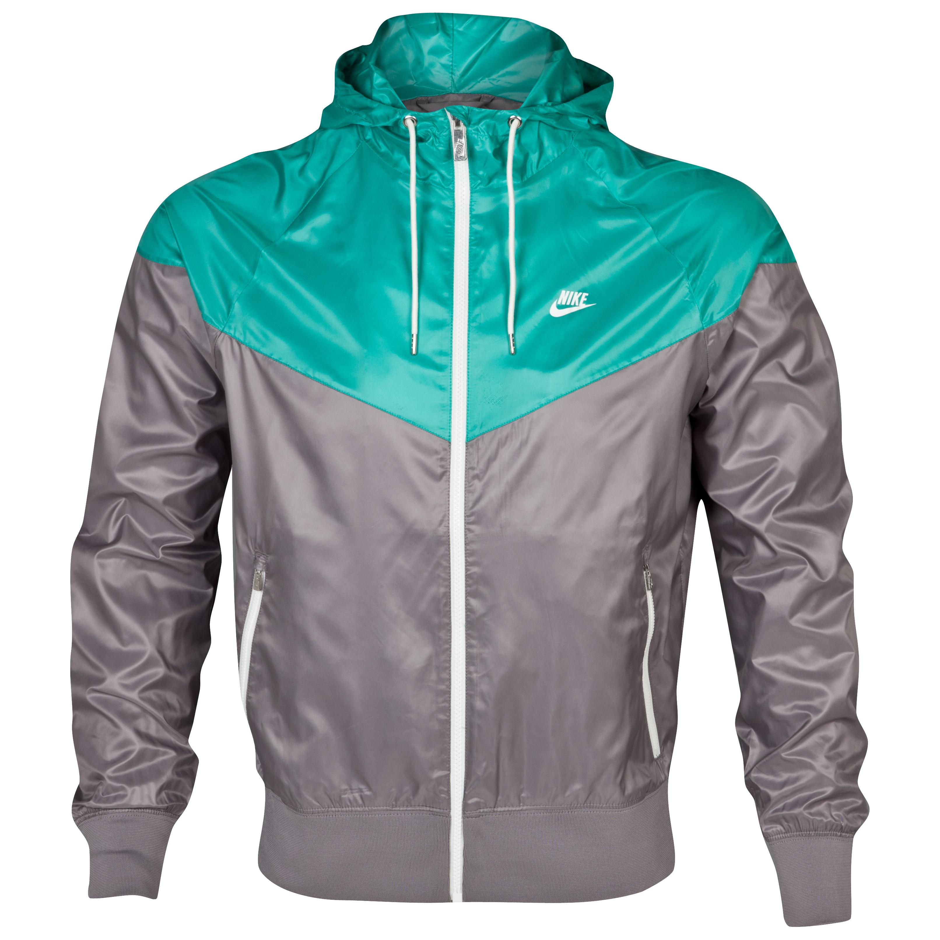 Nike Windrunner Jacket - Sport Grey/Atomic Teal