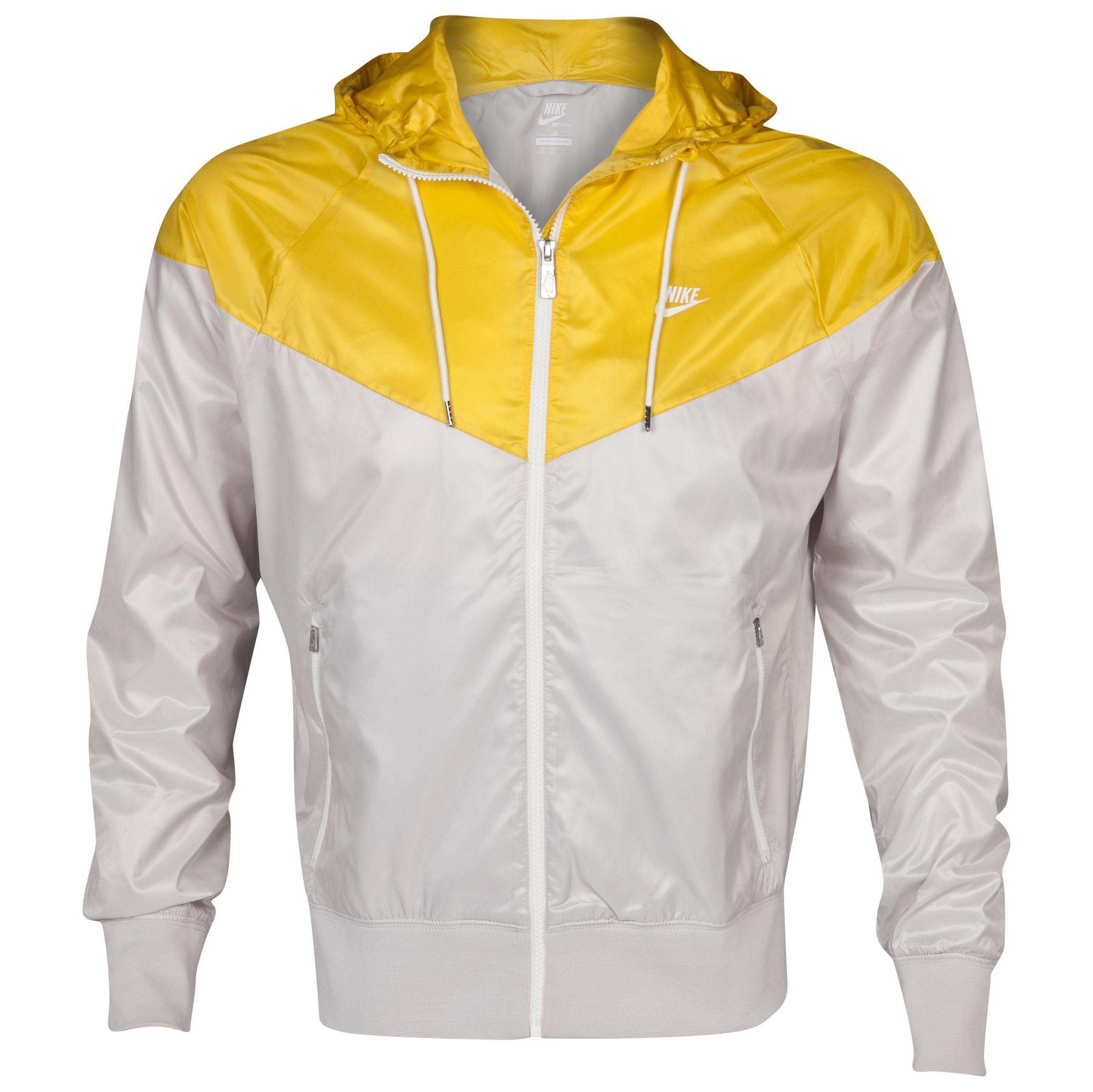 Nike Windrunner Jacket - Light Bone/Vivid Sulphur Yellow