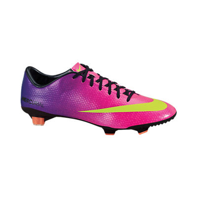 Nike Mercurial Veloce Firm Ground Football Boots - Fireberry/Electric Green/Red Plum