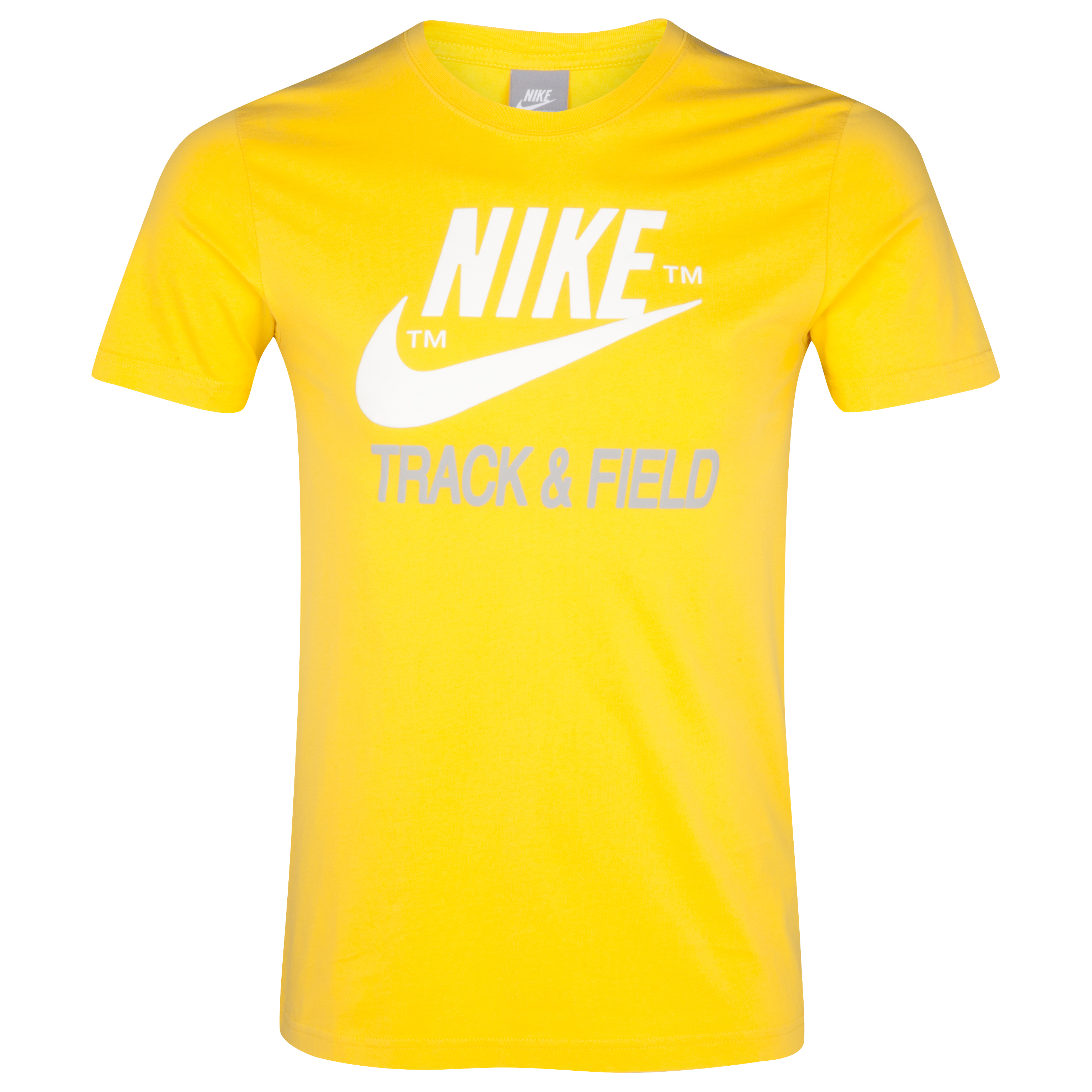 Nike Running NTF T-Shirt - Vivid Sulphur Yellow/Grey