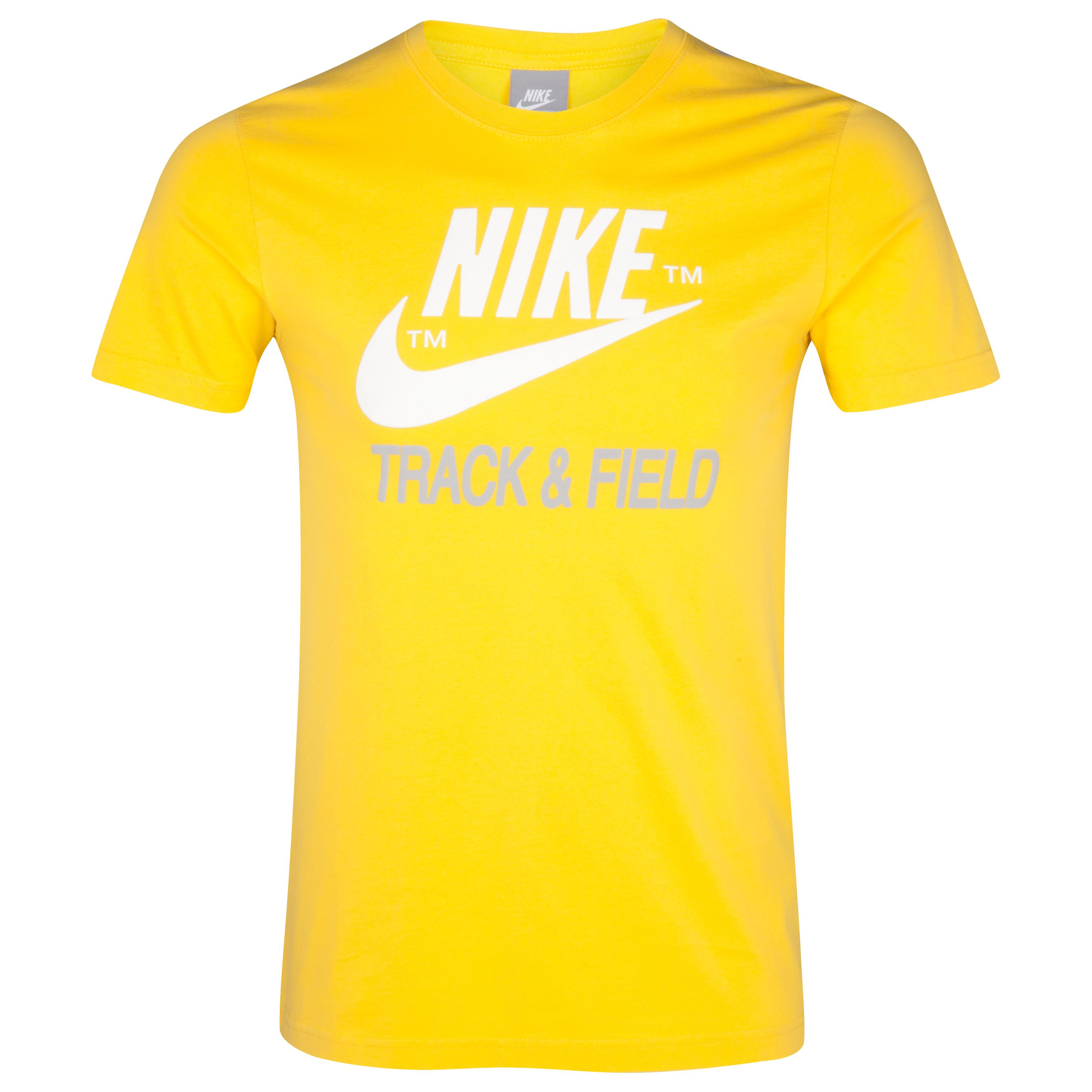Nike NTF T-Shirt - Vivid Sulphur Yellow/Grey
