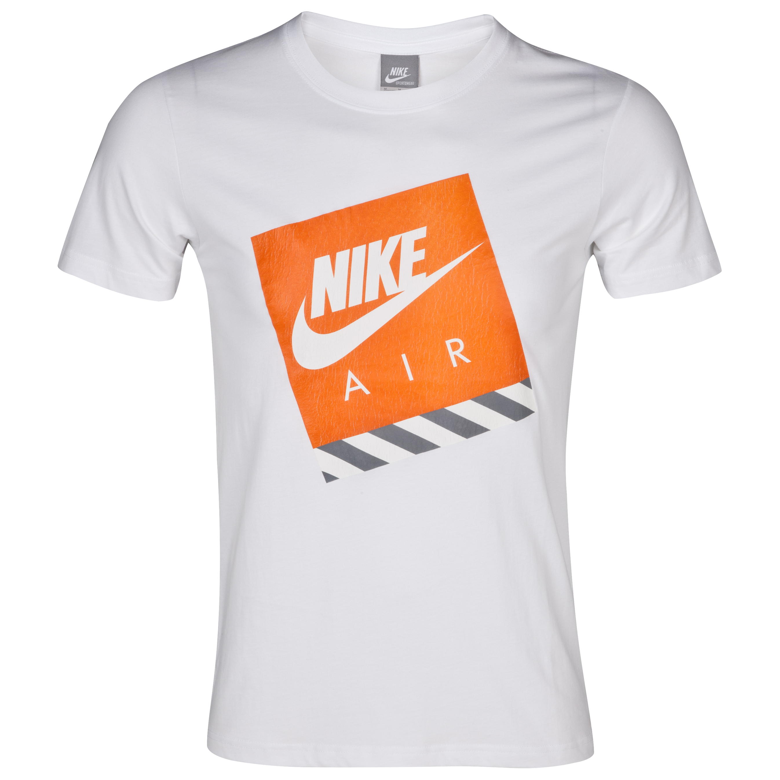 Nike RU AMX Air Logo Tee - White/Sail