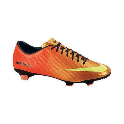 Nike Mercurial Veloce Firm Ground Football Boots - Sunset/Volt/Total Crimson