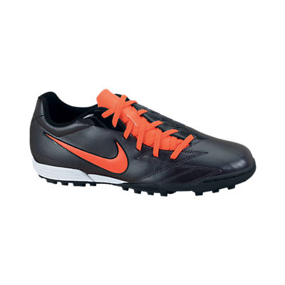 Nike Total90 Exacto IV Astroturf Trainers - Black/Total Crimson/Black