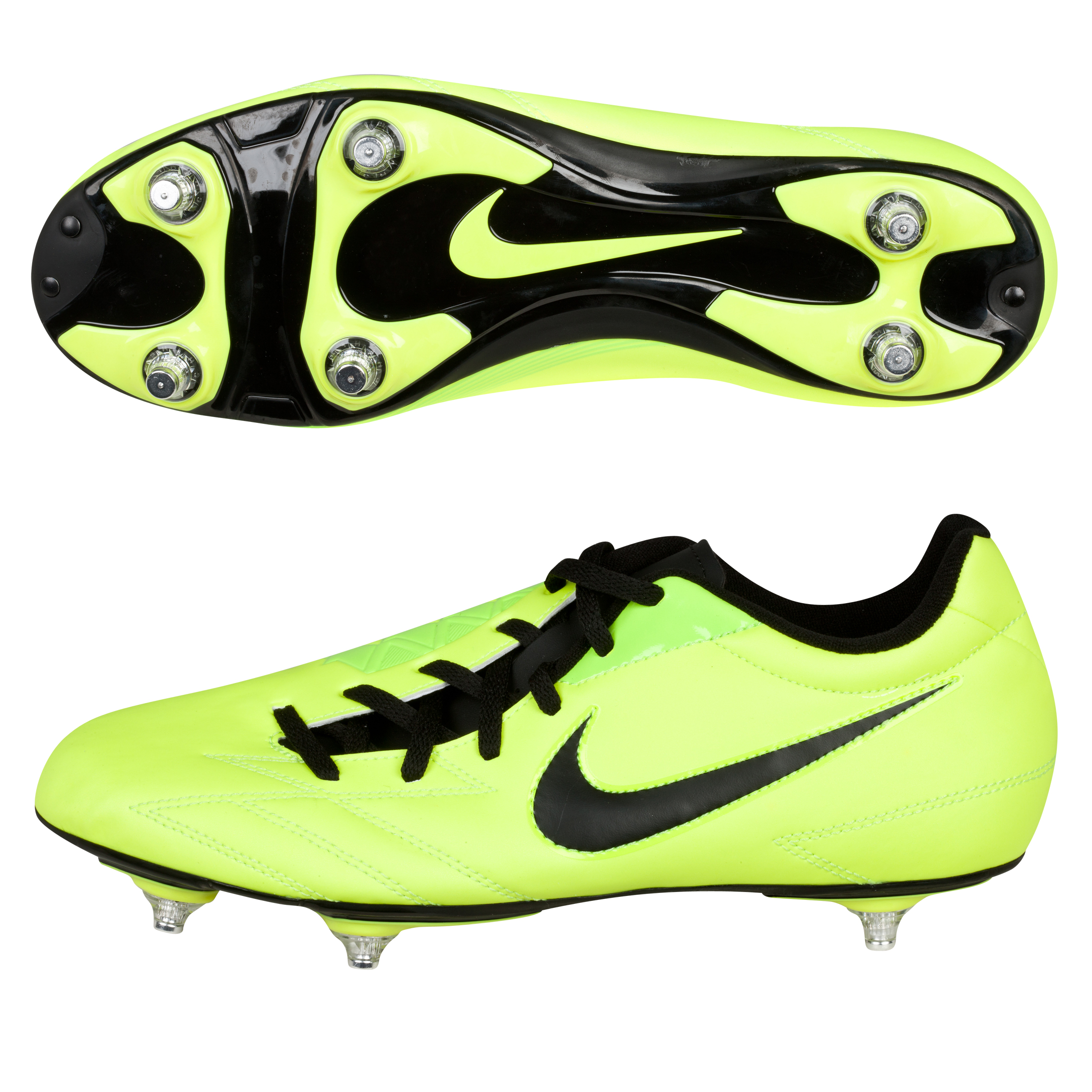 Nike Total90 Exacto IV Soft Ground Football Boots -  Volt/Black/Citron