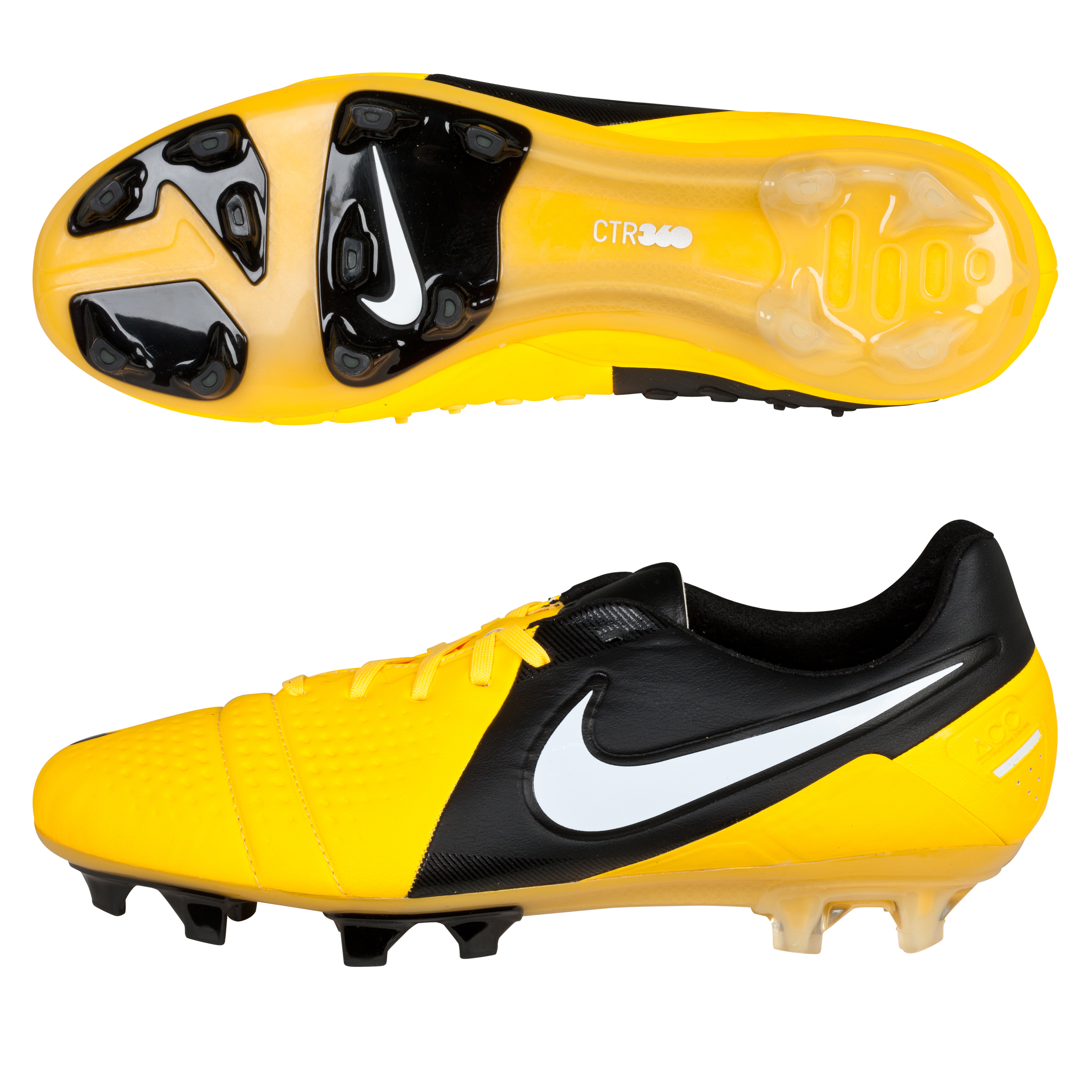 Nike CTR360 Maestri III Firm Ground Football Boots - Citrus/White/Black