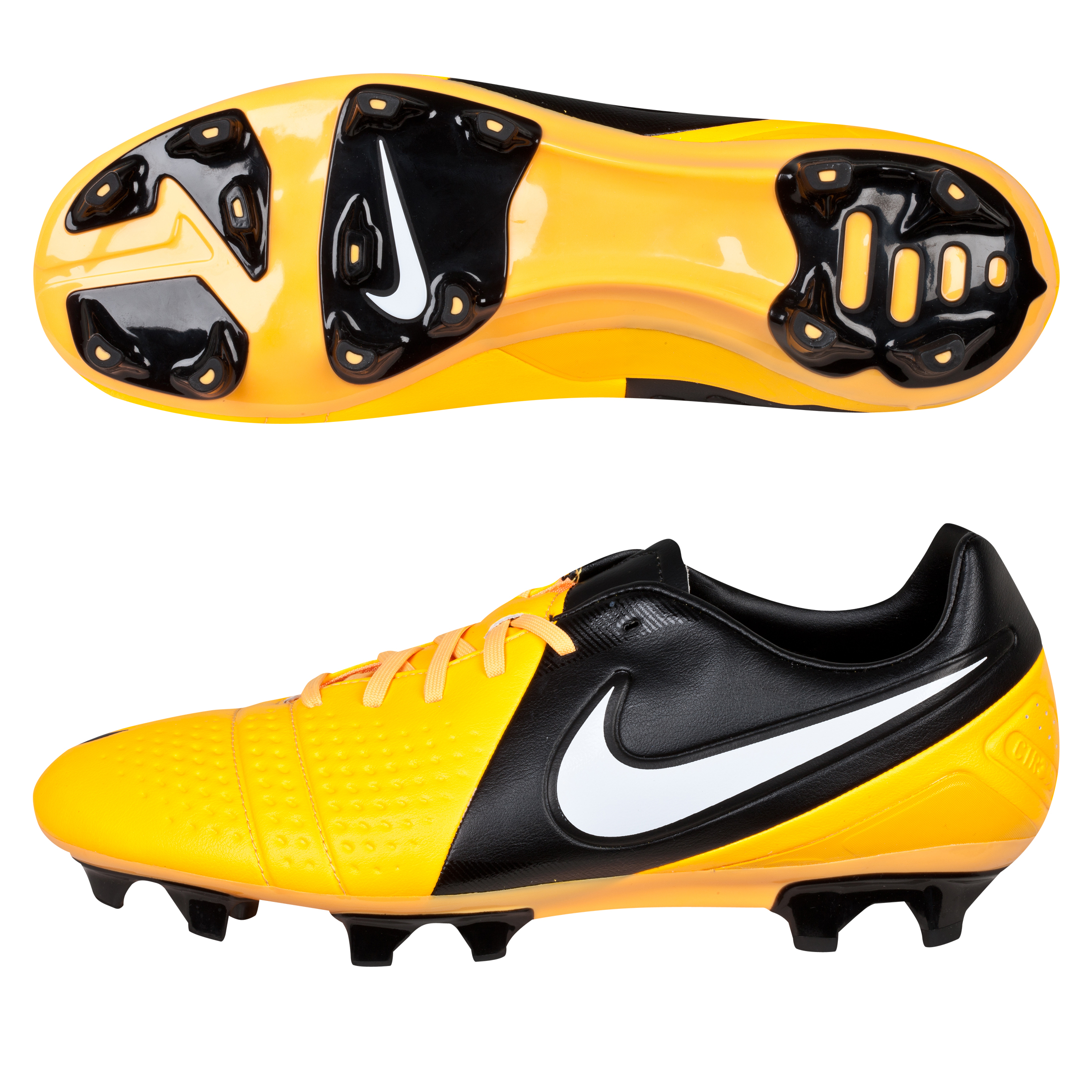 Nike CTR360 Trequartista III Firm Ground Football Boots - Citrus/White/Black