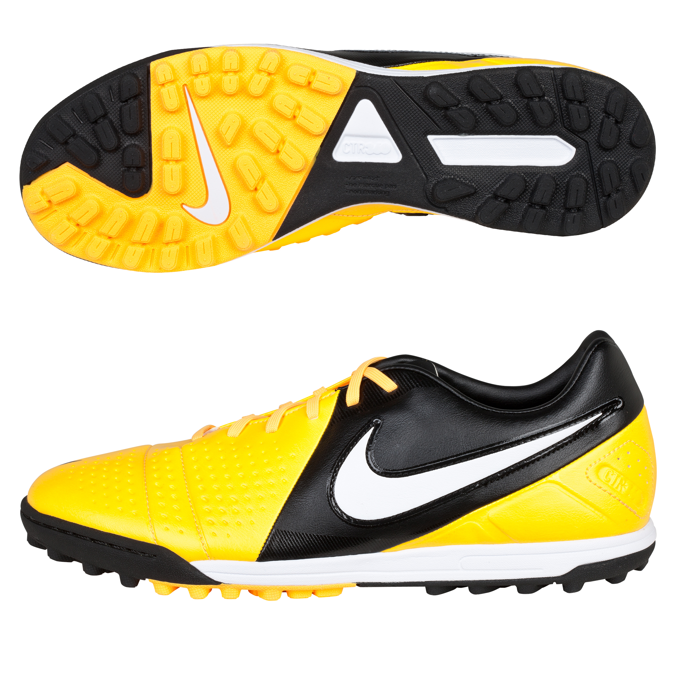 Nike CTR360 Libretto III Astroturf Trainers - Citrus/White/Black