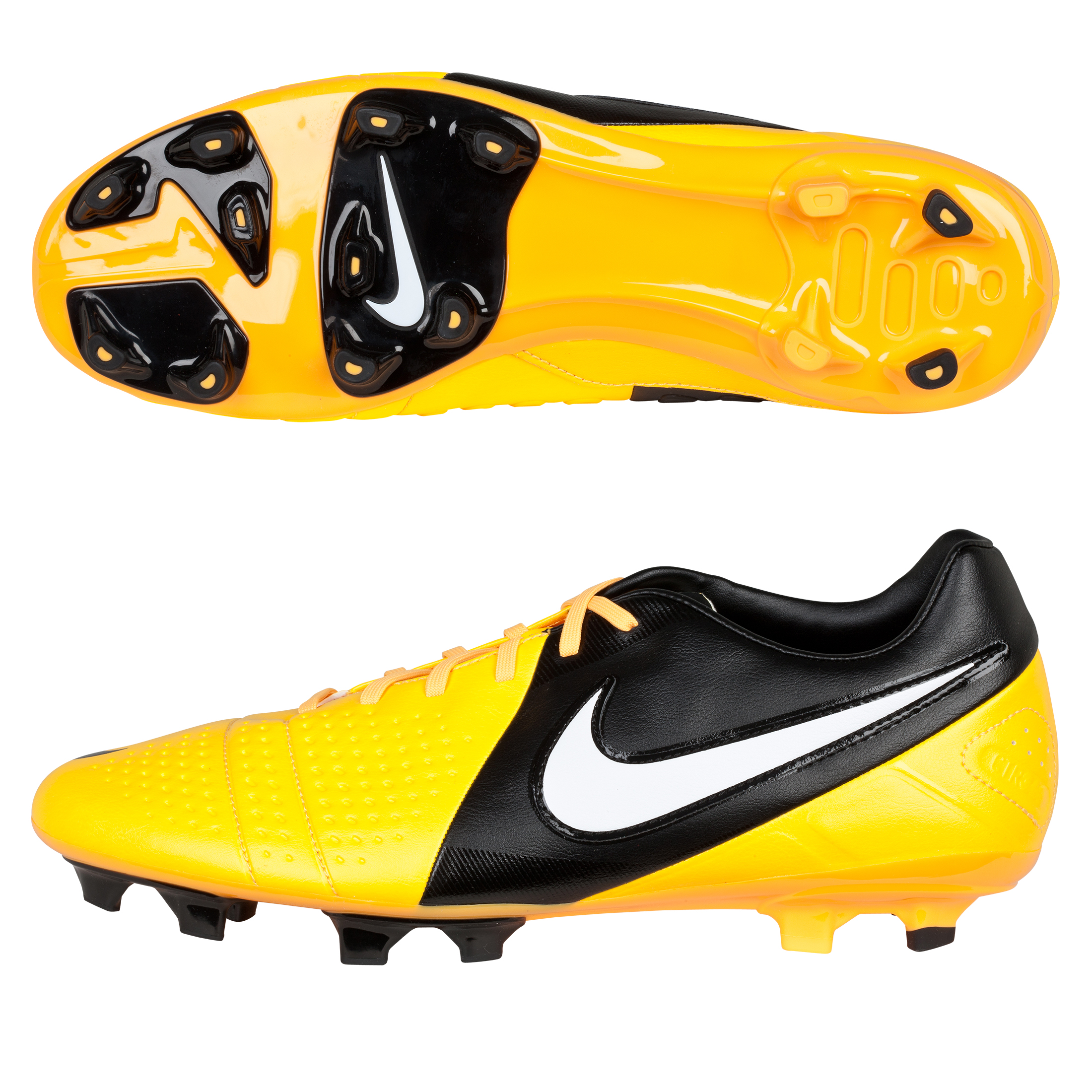 Nike CTR360 Libretto III Firm Ground Football Boots - Citrus/White/Black