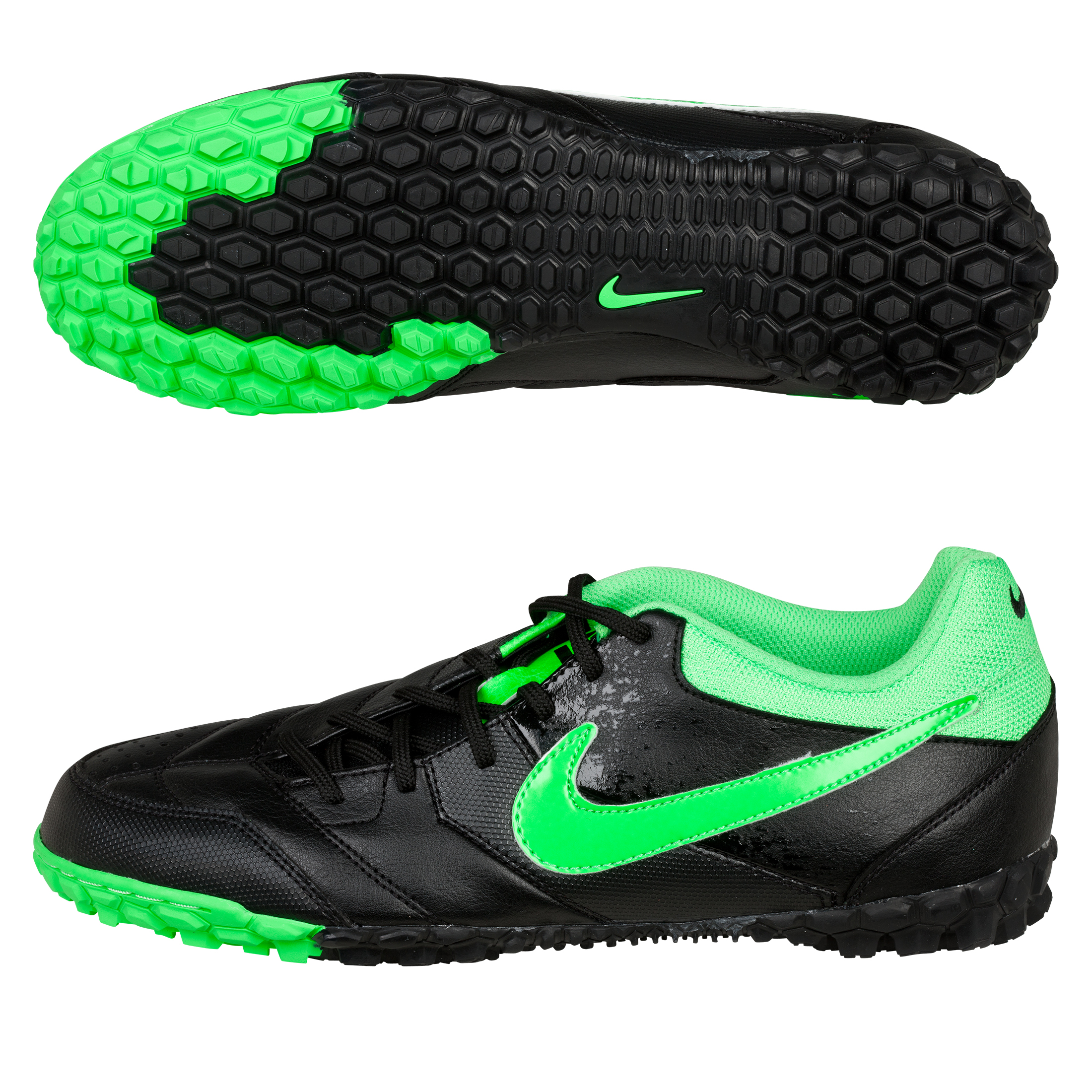 Nike5 Bomba Trainers -  Black/Poison Green
