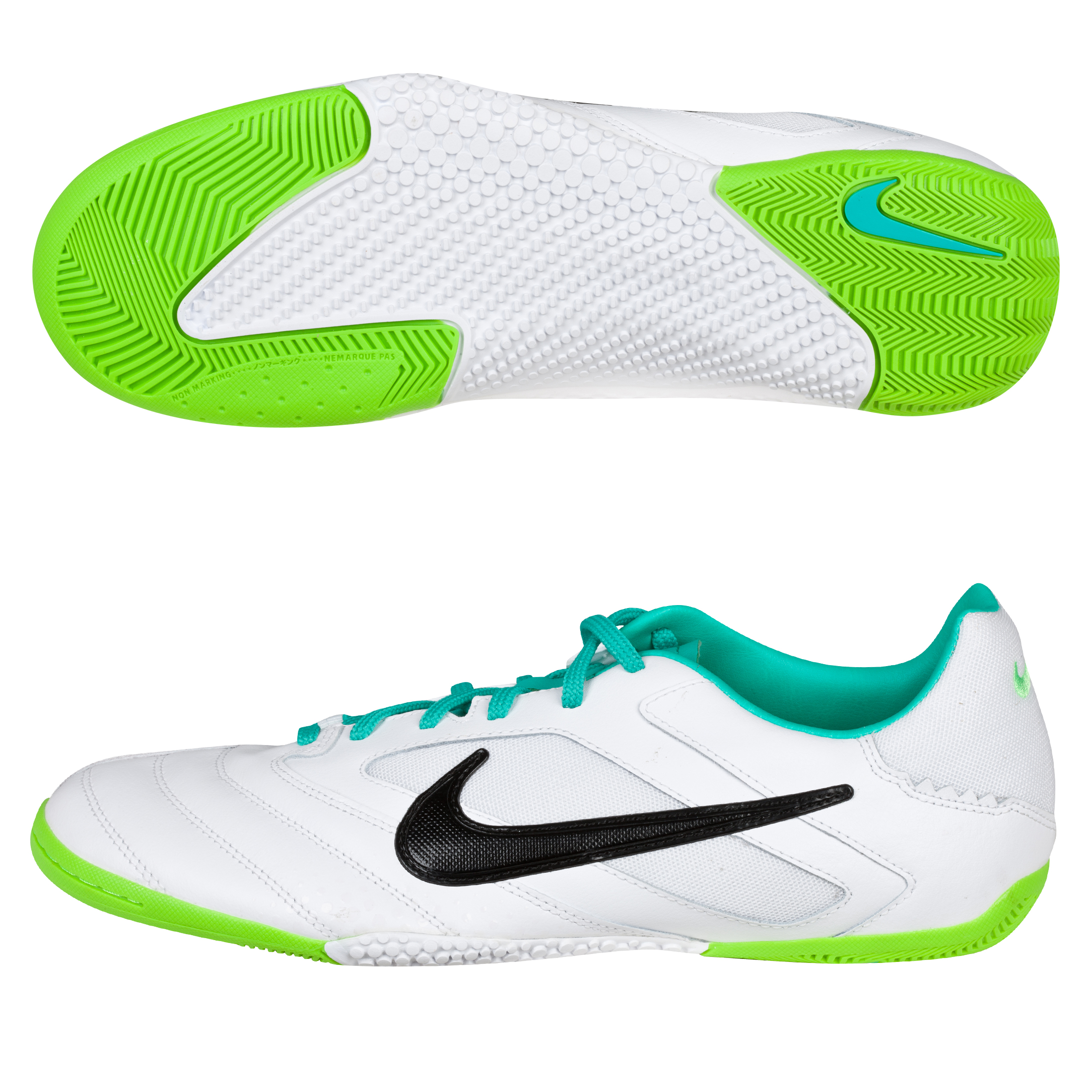 Nike5 Elastico Pro Trainers - White/Black/Electric Green
