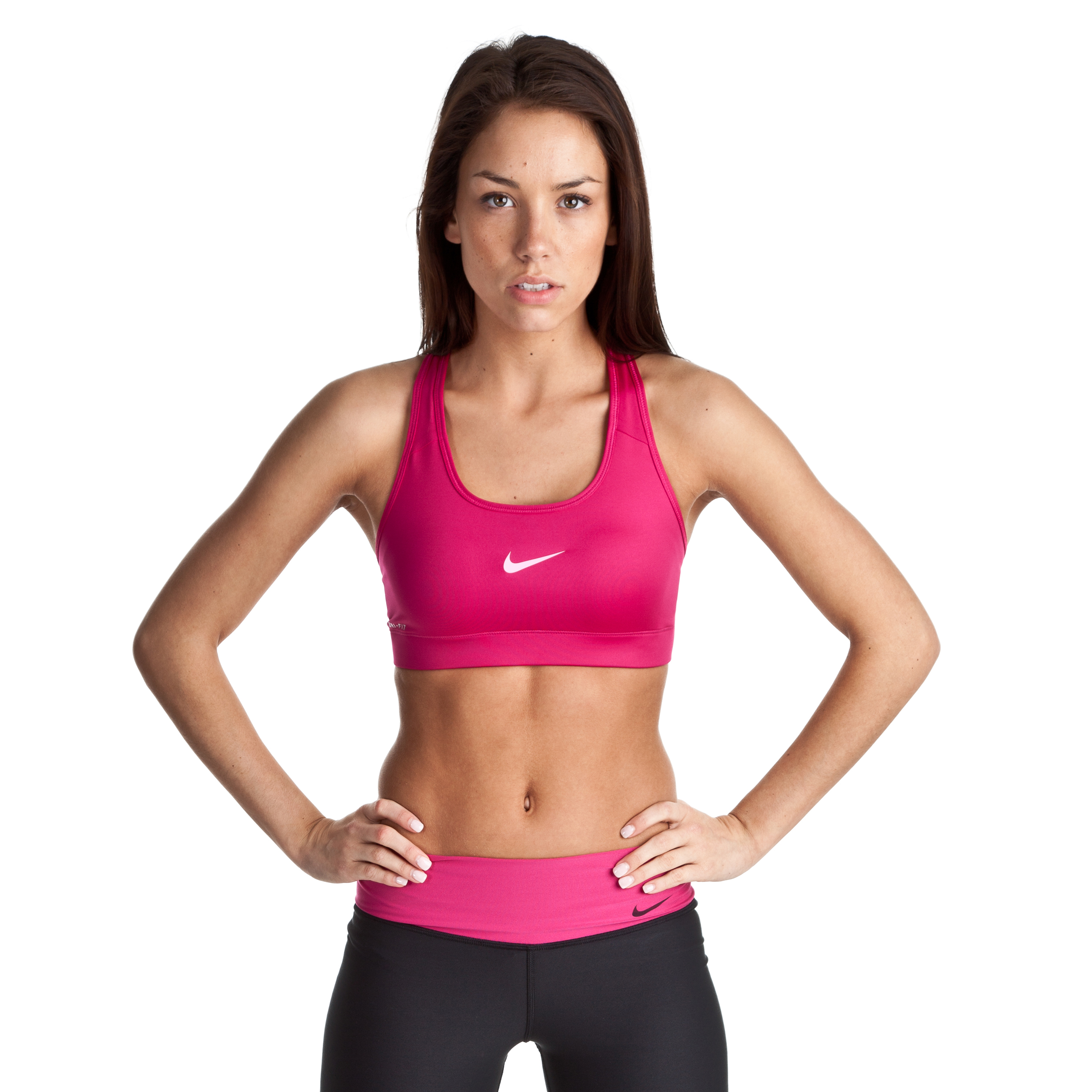 Nike Pro Bra - Sport Fuchsia/Polarized Pink - Womens