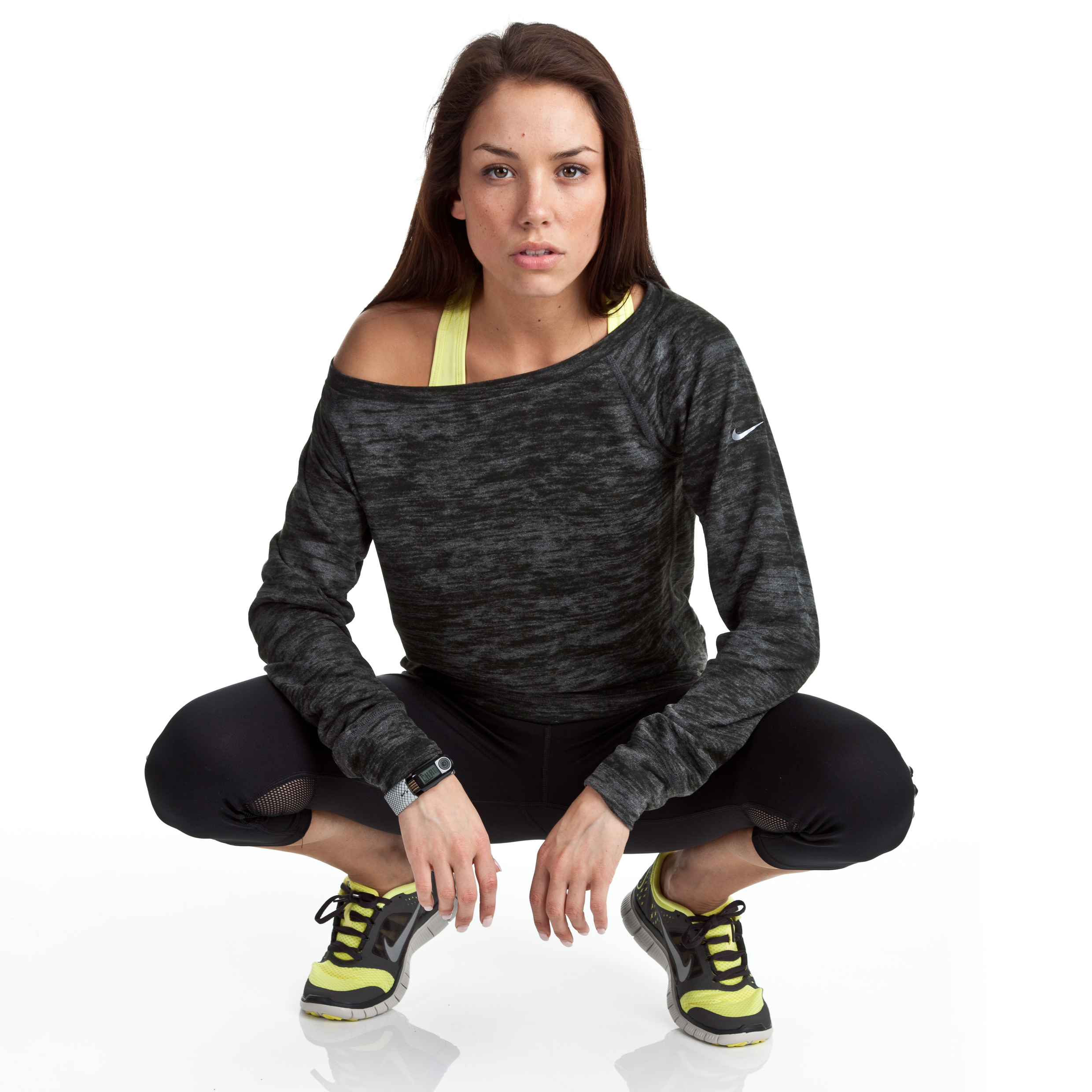 Nike Epic Crew 2.0 - Anthracite/Anthracite - Womens