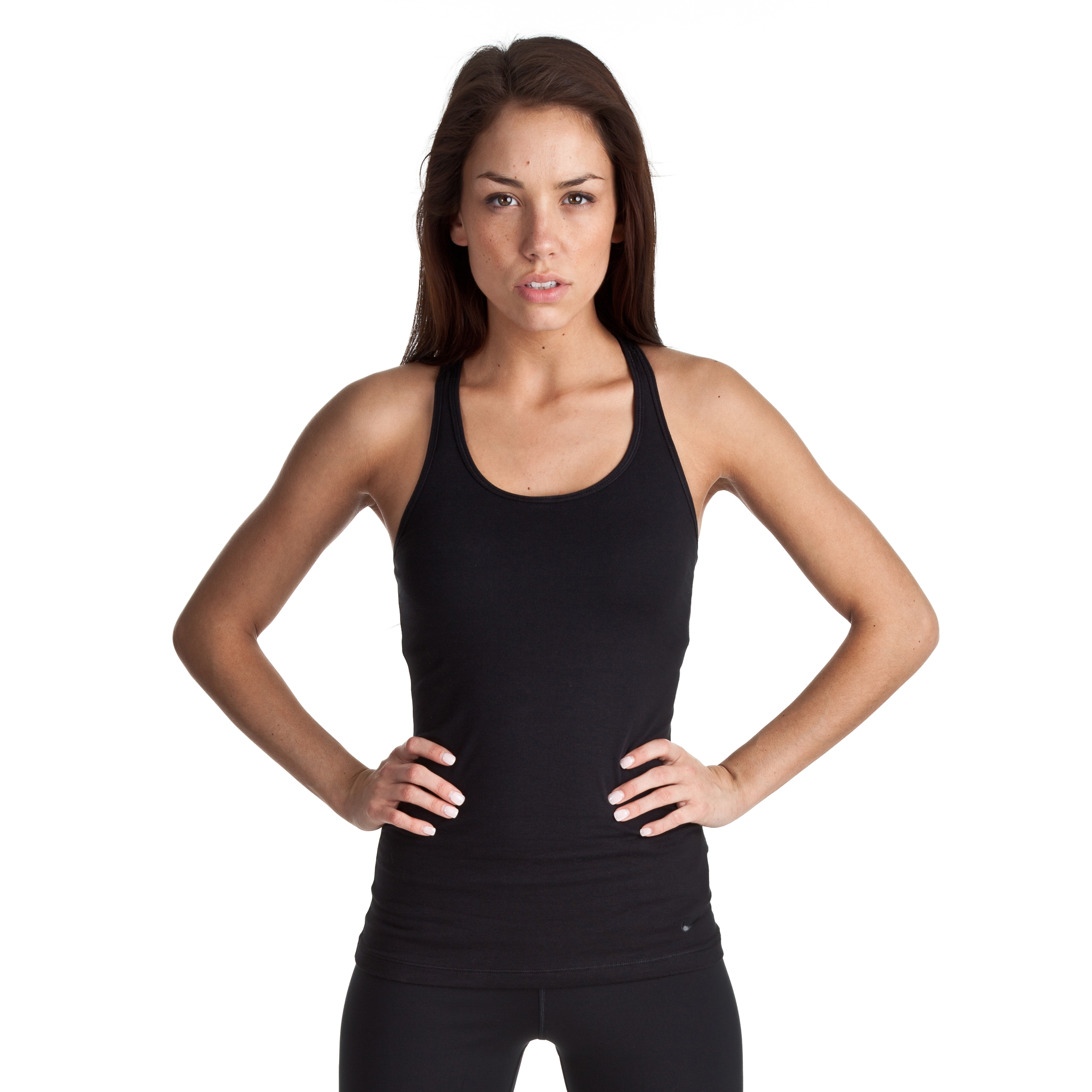 Nike Lean Tank - Black/Black - Womens