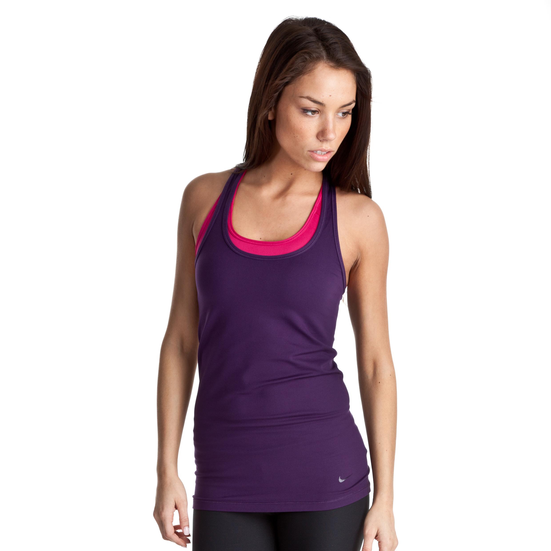 Nike Flirt Tank - Grand Purple - Womens