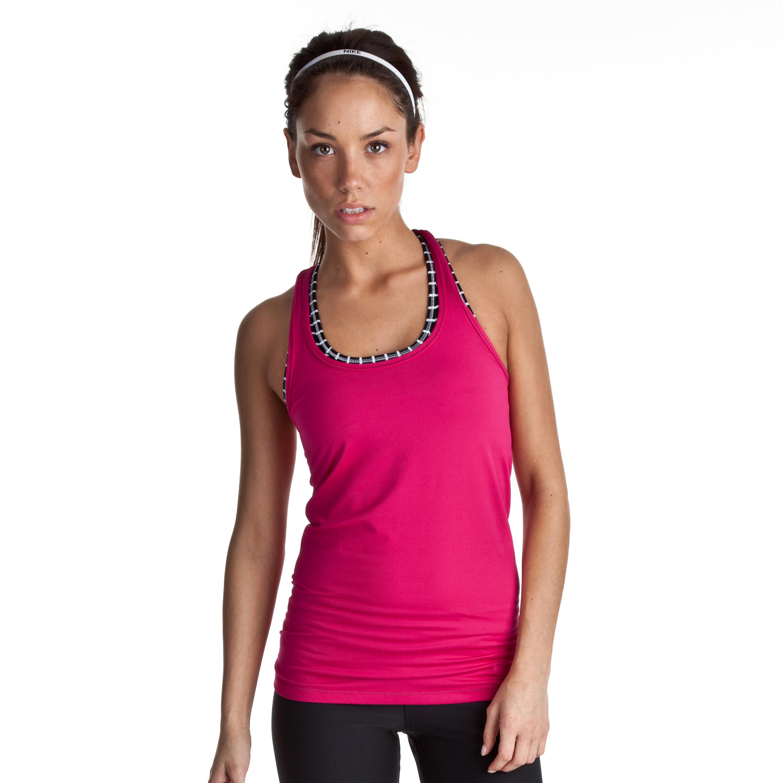 Nike Flirt Tank - Sport Fuchsia - Womens