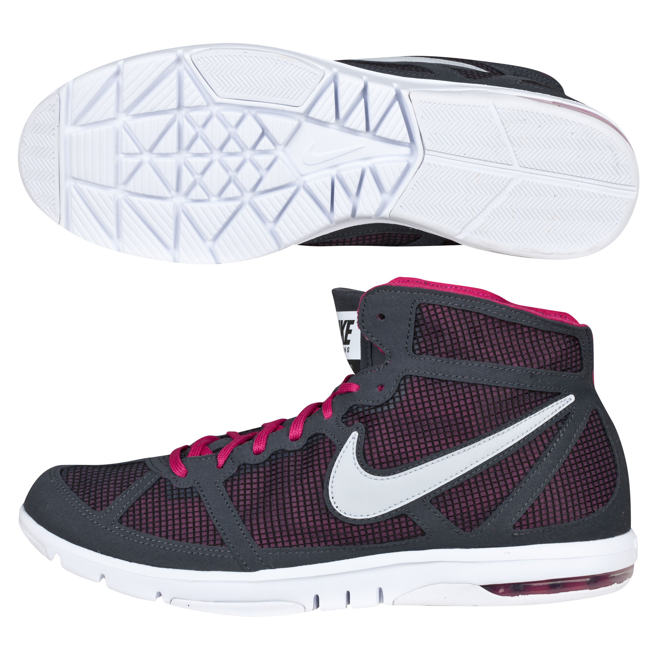 Nike Air Max S2S Mid - Anthracite/Grey/Sport Fuschia - Womens