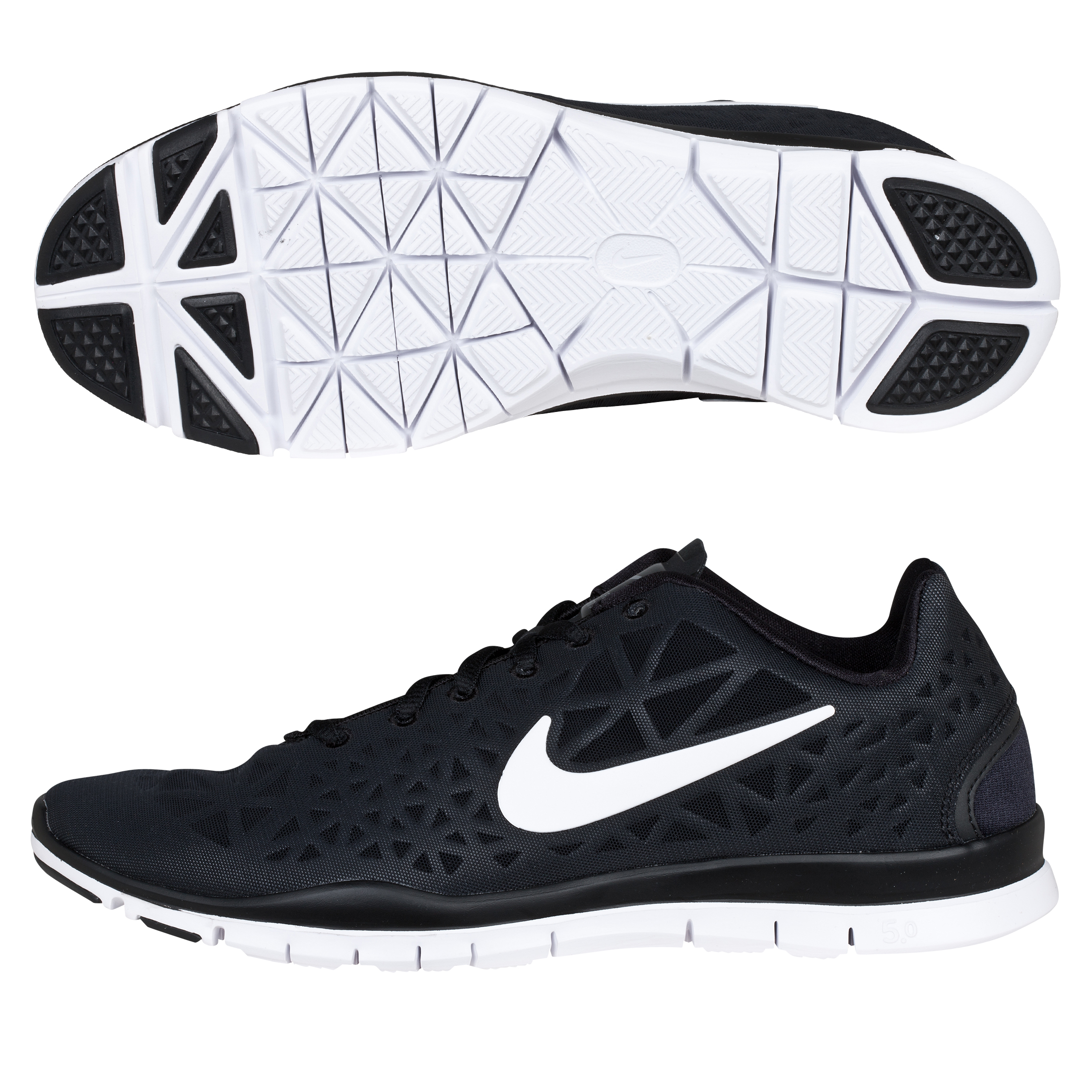 Nike Free Tr Fit 3 - Black/White-Anthracite - Womens