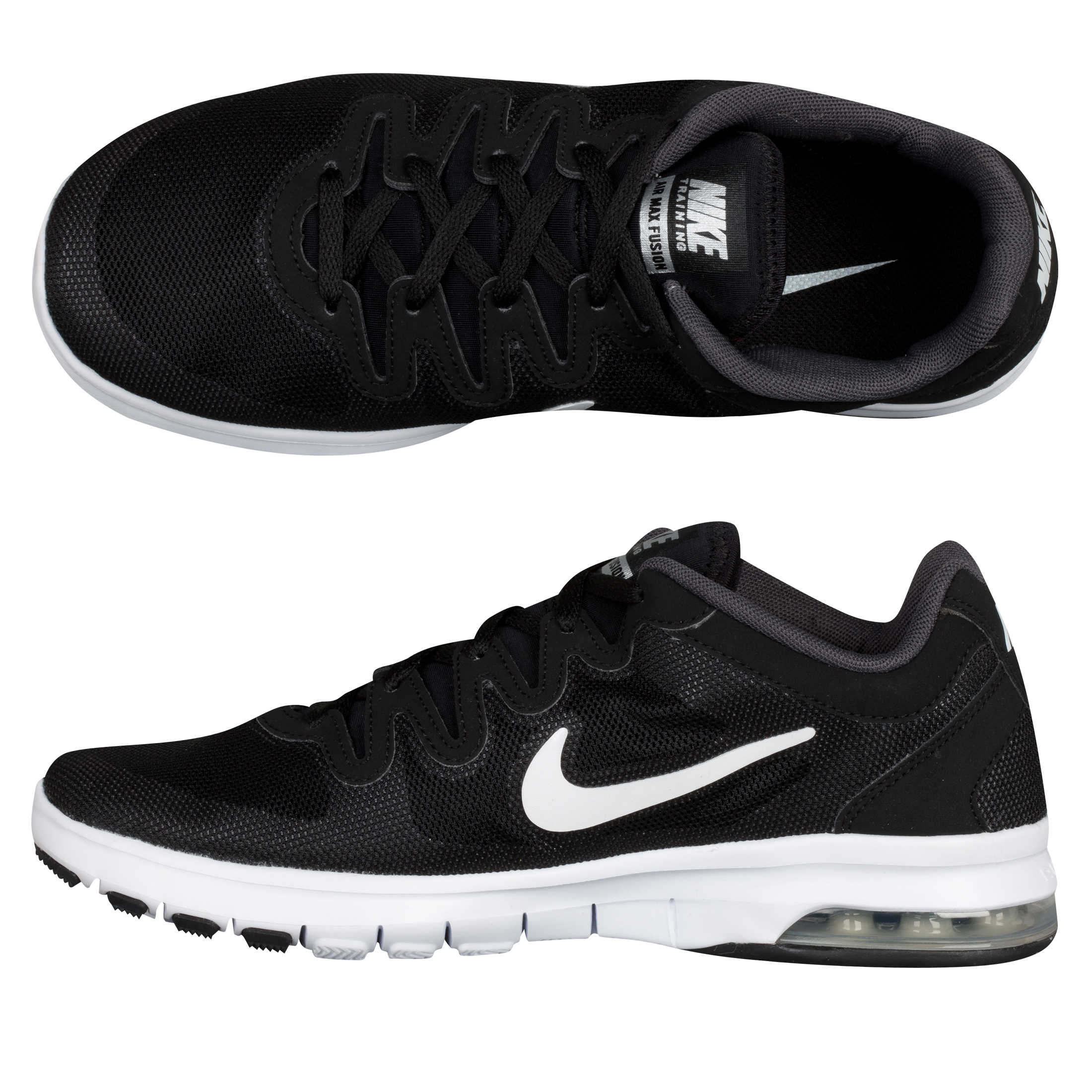 Nike Air Max Fusion - Black/White/Anthracite - Womens