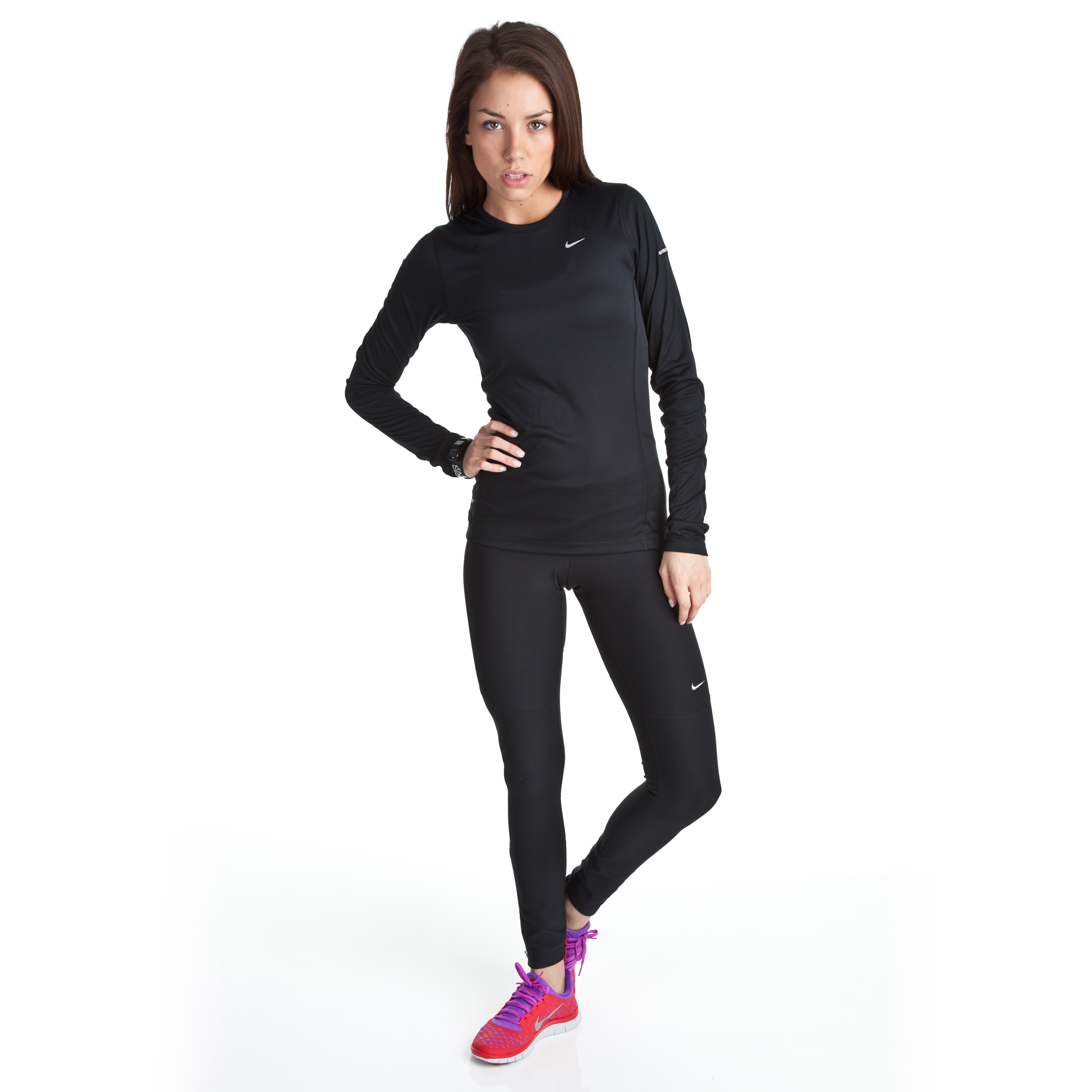 Nike Filament Tights - Black - Womens