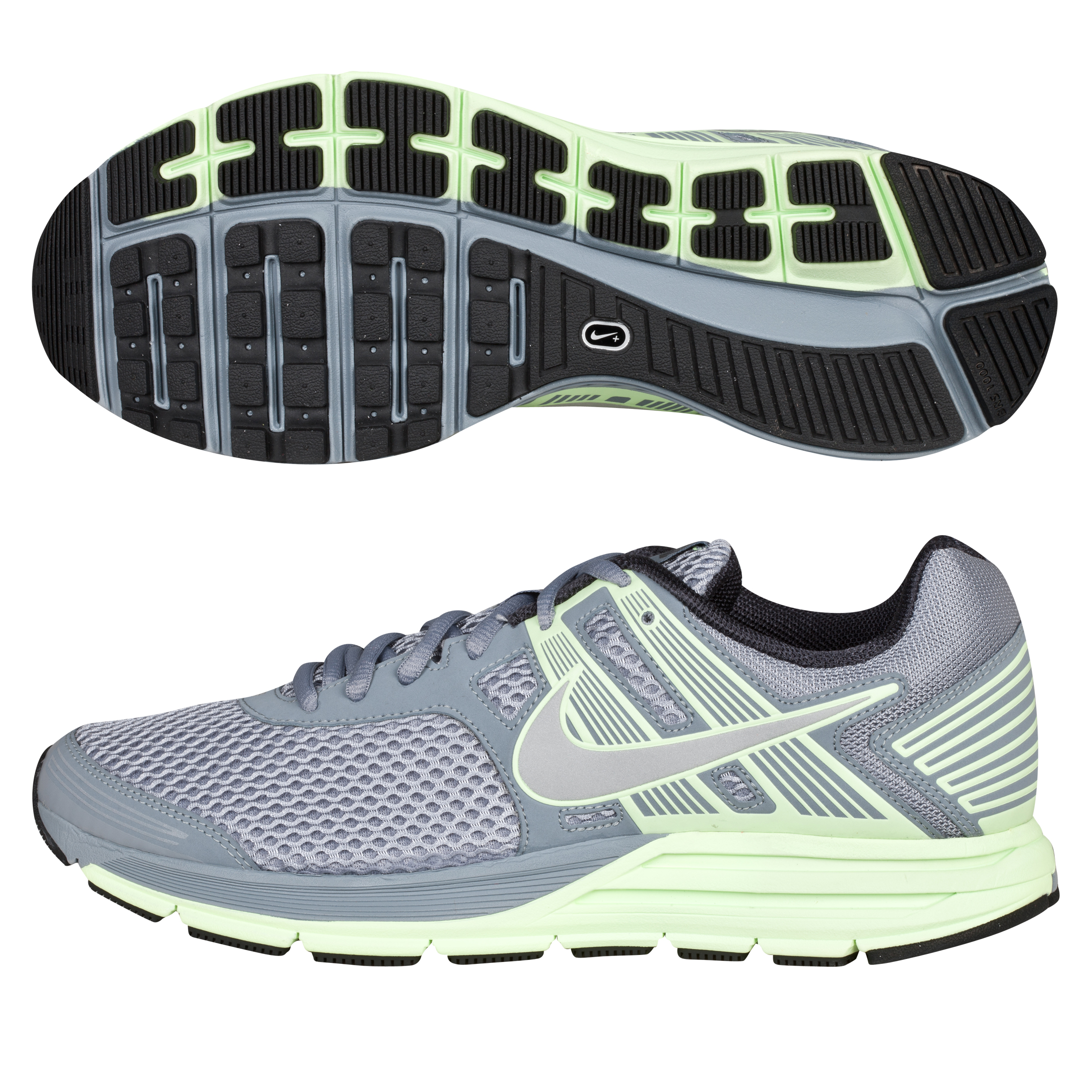 Nike Zoom Structure +16 Stability Trainer - Stealth/Reflective Silver - Womens