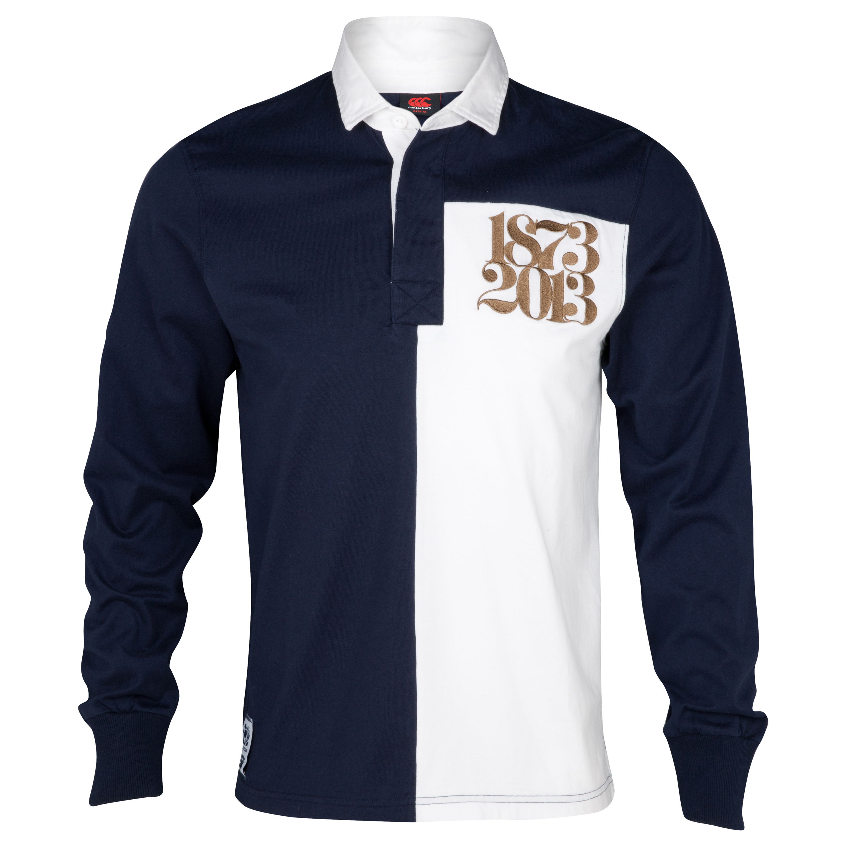Scotland 1873-2013 Rugby Shirt - Long Sleeved