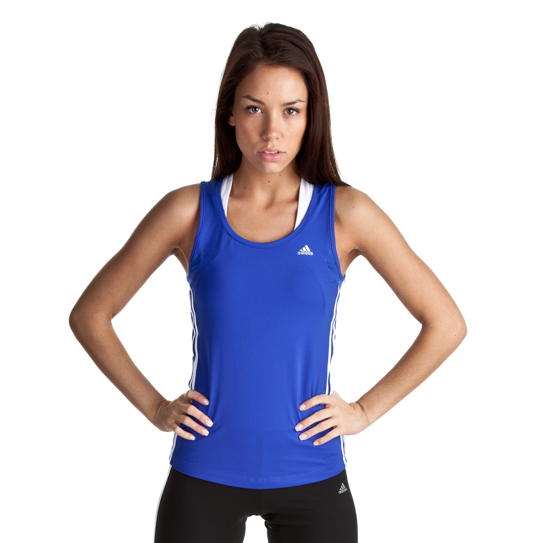 Adidas Climacool Core Tank - Cobalt/White - Womens