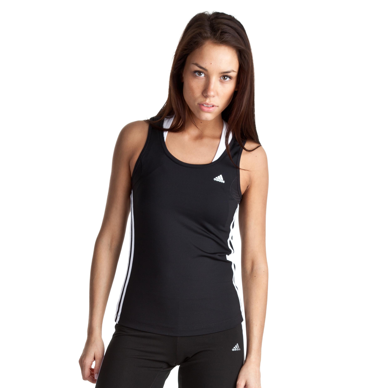 Adidas Climacool Core Tank - Black/White/Matte Silver - Womens