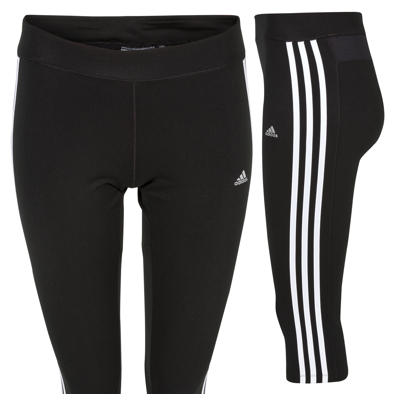 Adidas Climacool Core 3/4 Capri - Black/White/Matte Silver - Womens