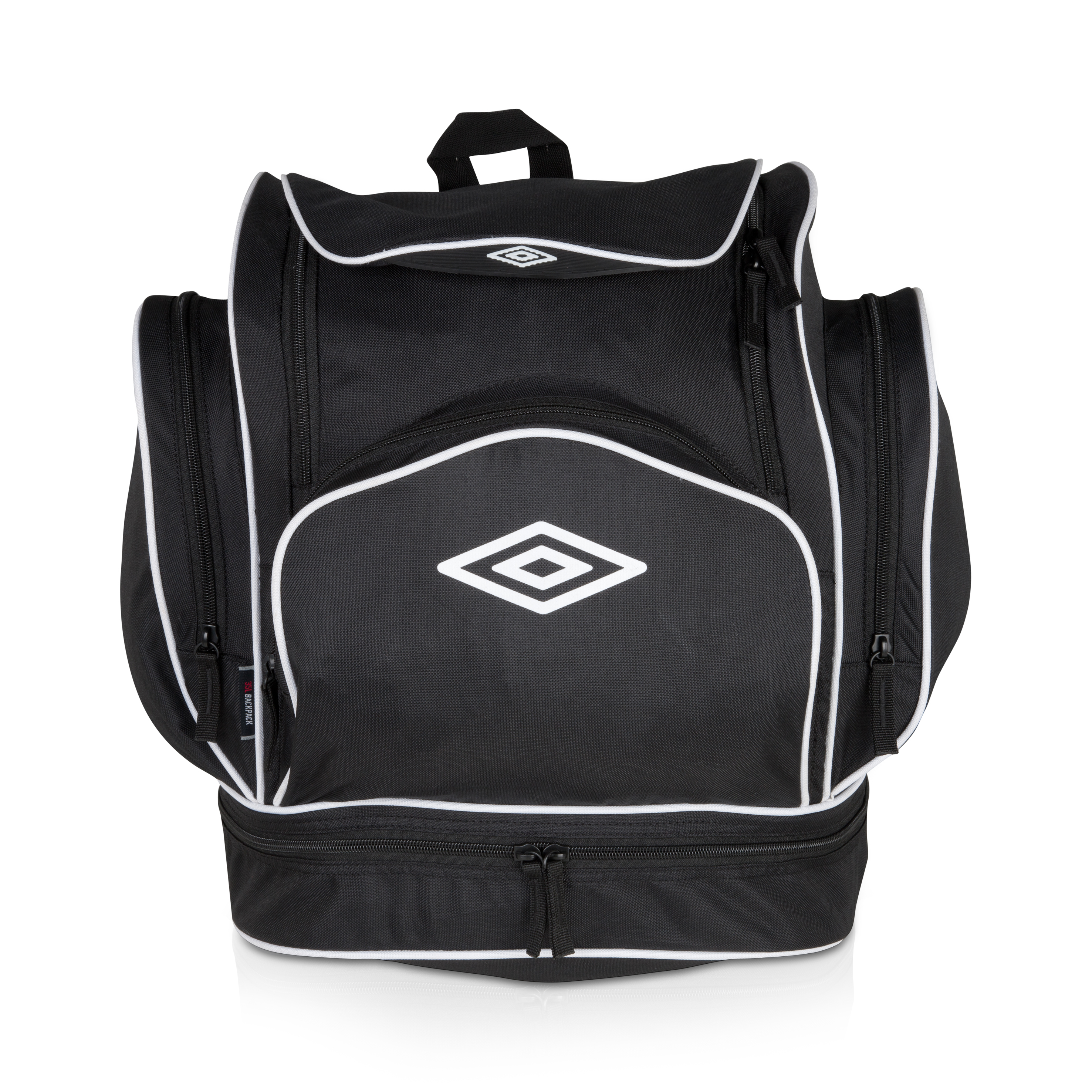 Umbro Italia Backpack - Black / White