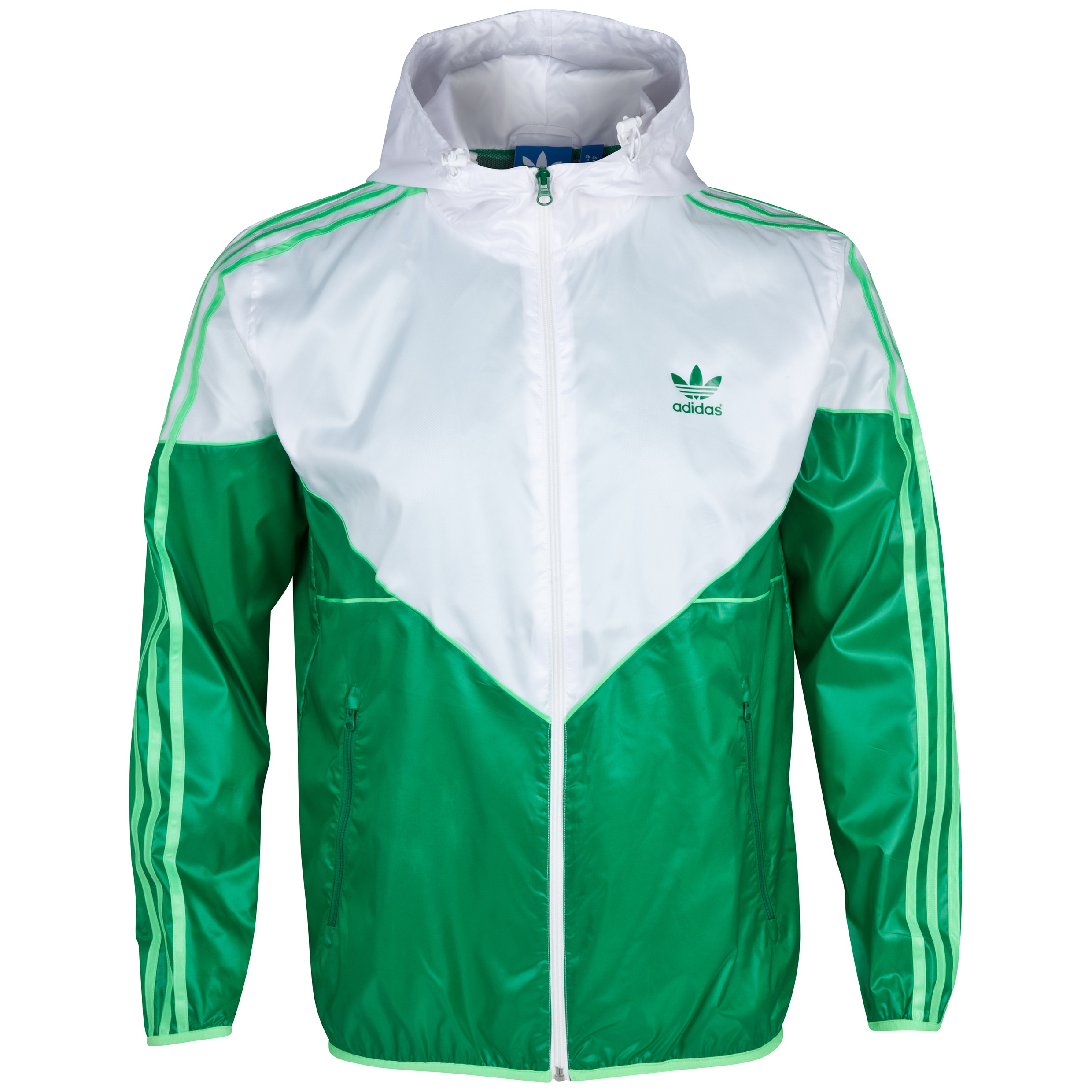 Adidas Originals Colorado Windbreaker - White/Fairway