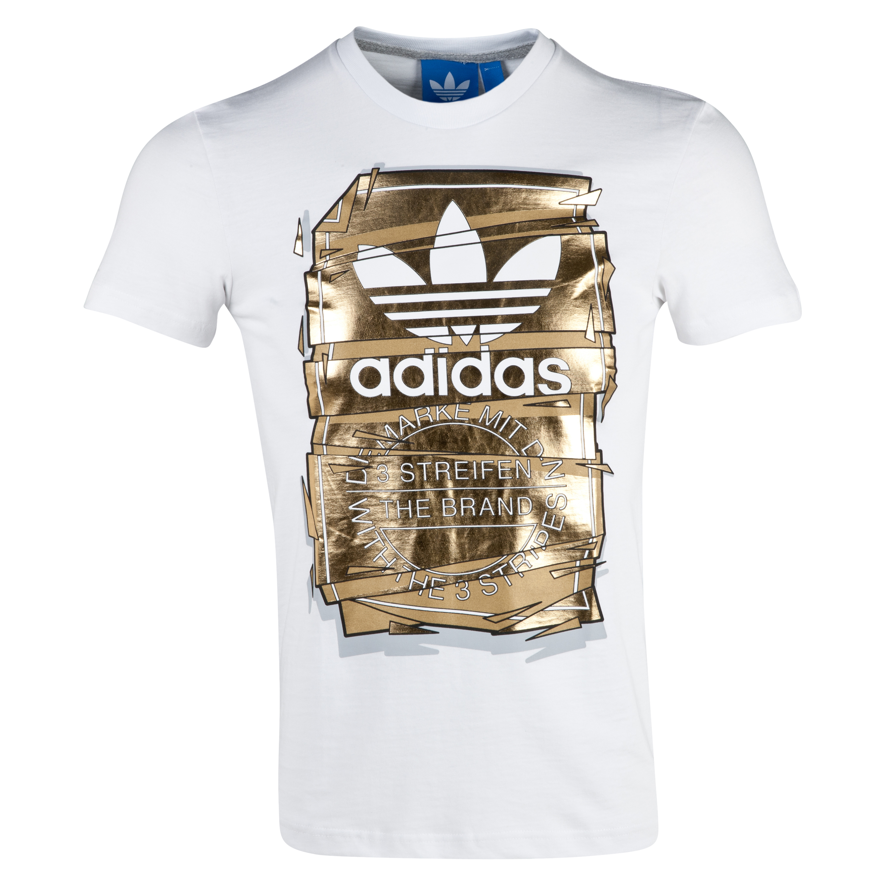 Adidas Originals Tongue Tee - White