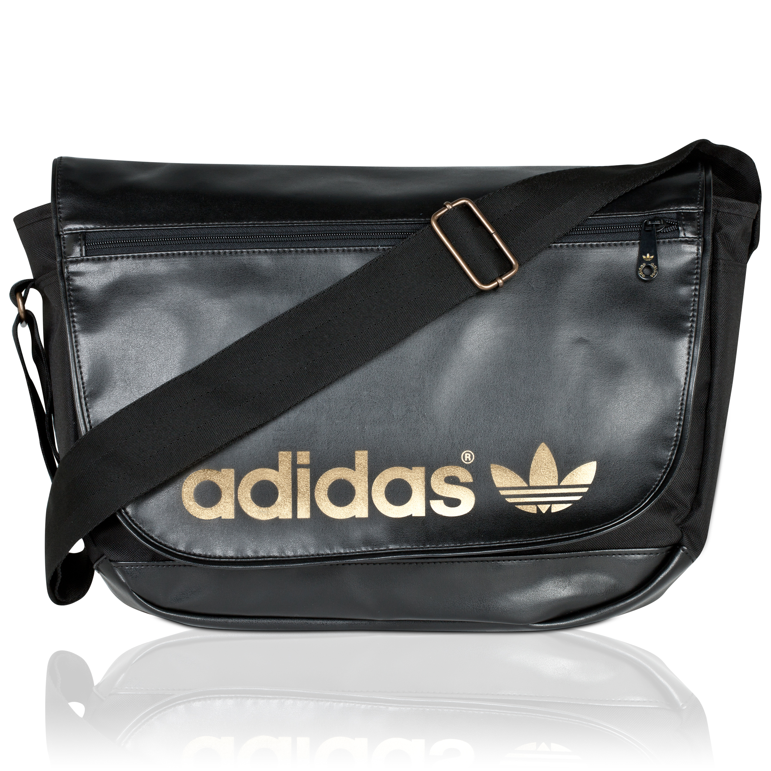 Originals AC Messenger Bag - Black/Metallic Gold