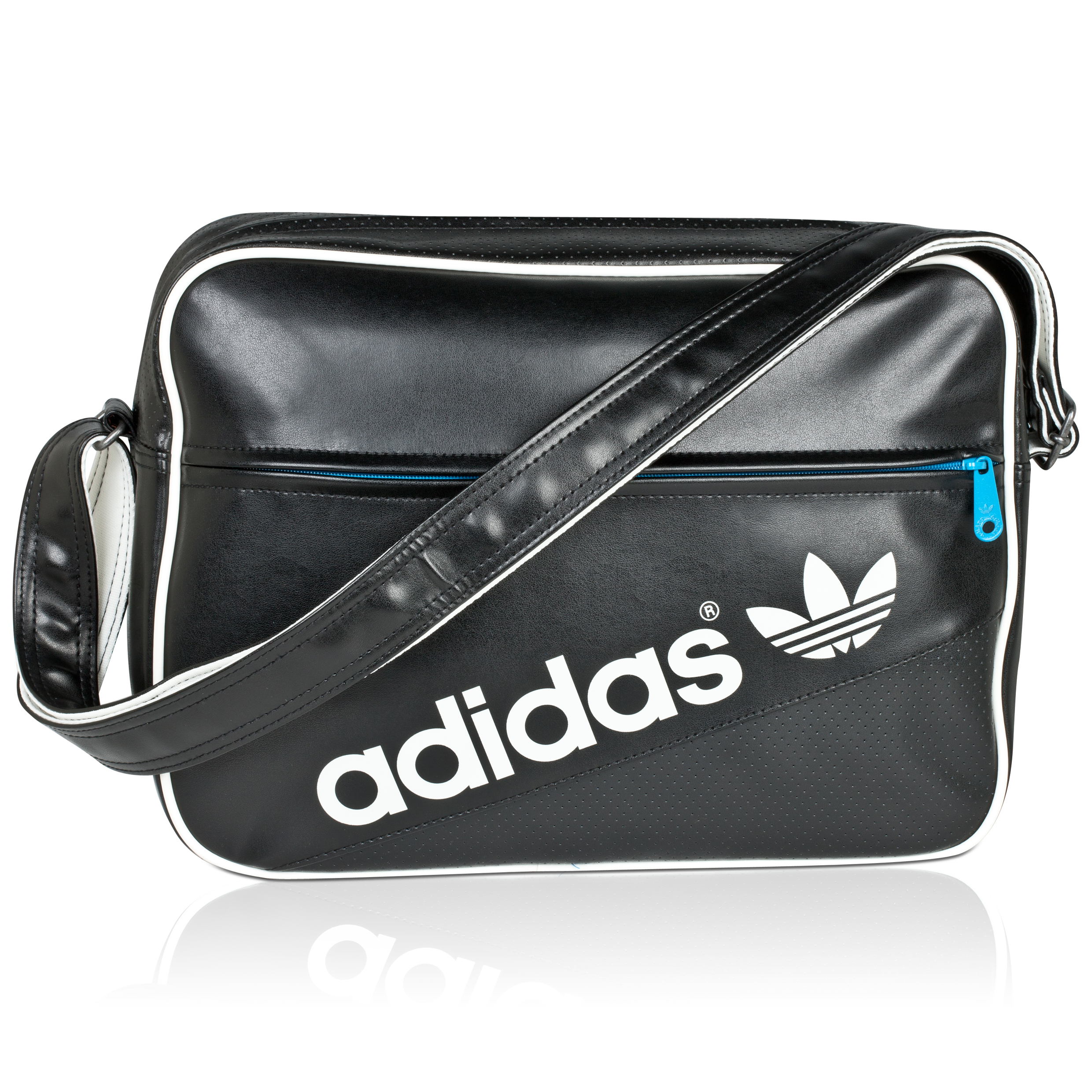 Originals Perf Airline Bag - Black/White/Turquoise