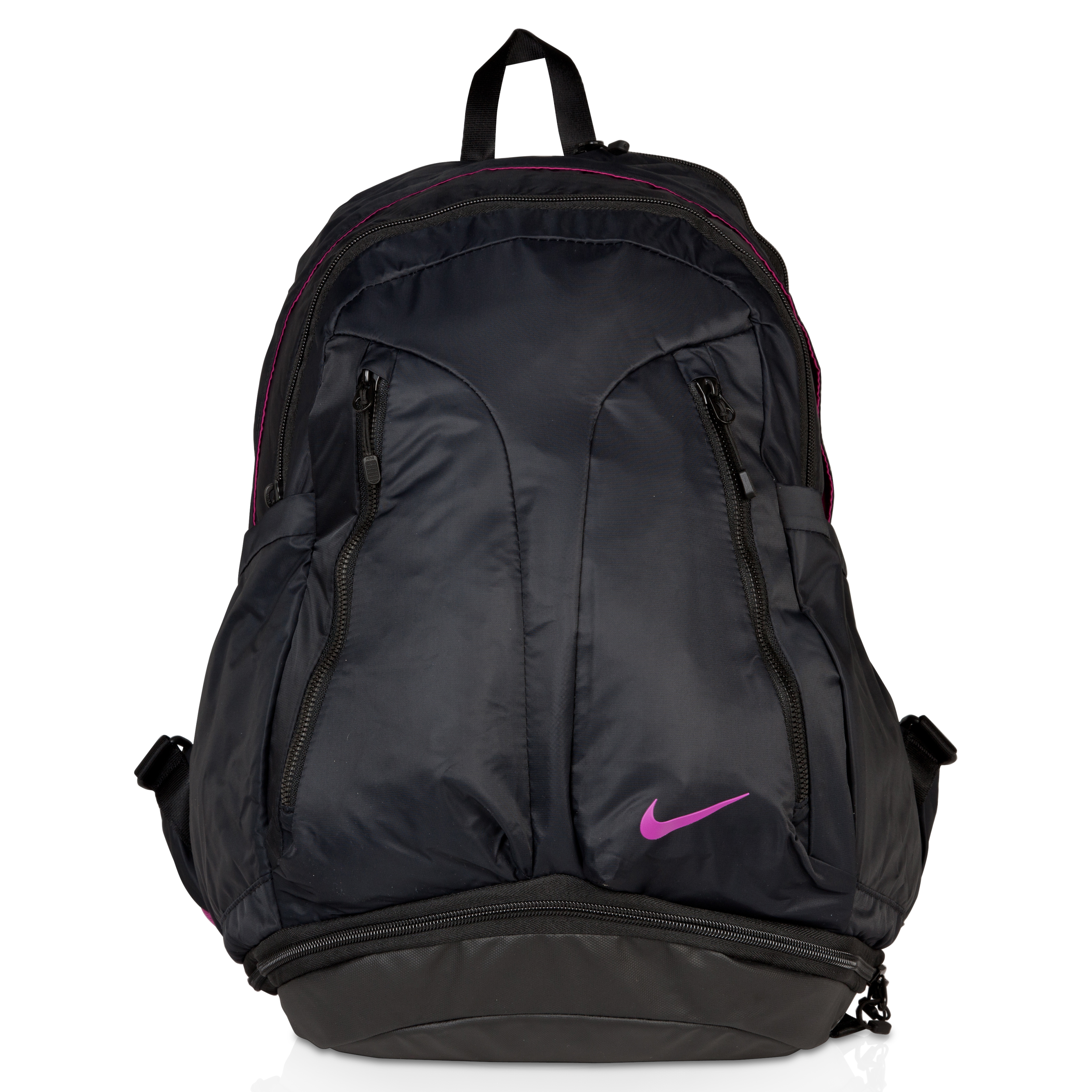 Nike Ultimatum Victory Backpac - Black/Rave Pink/(Rave Pink) - Womens