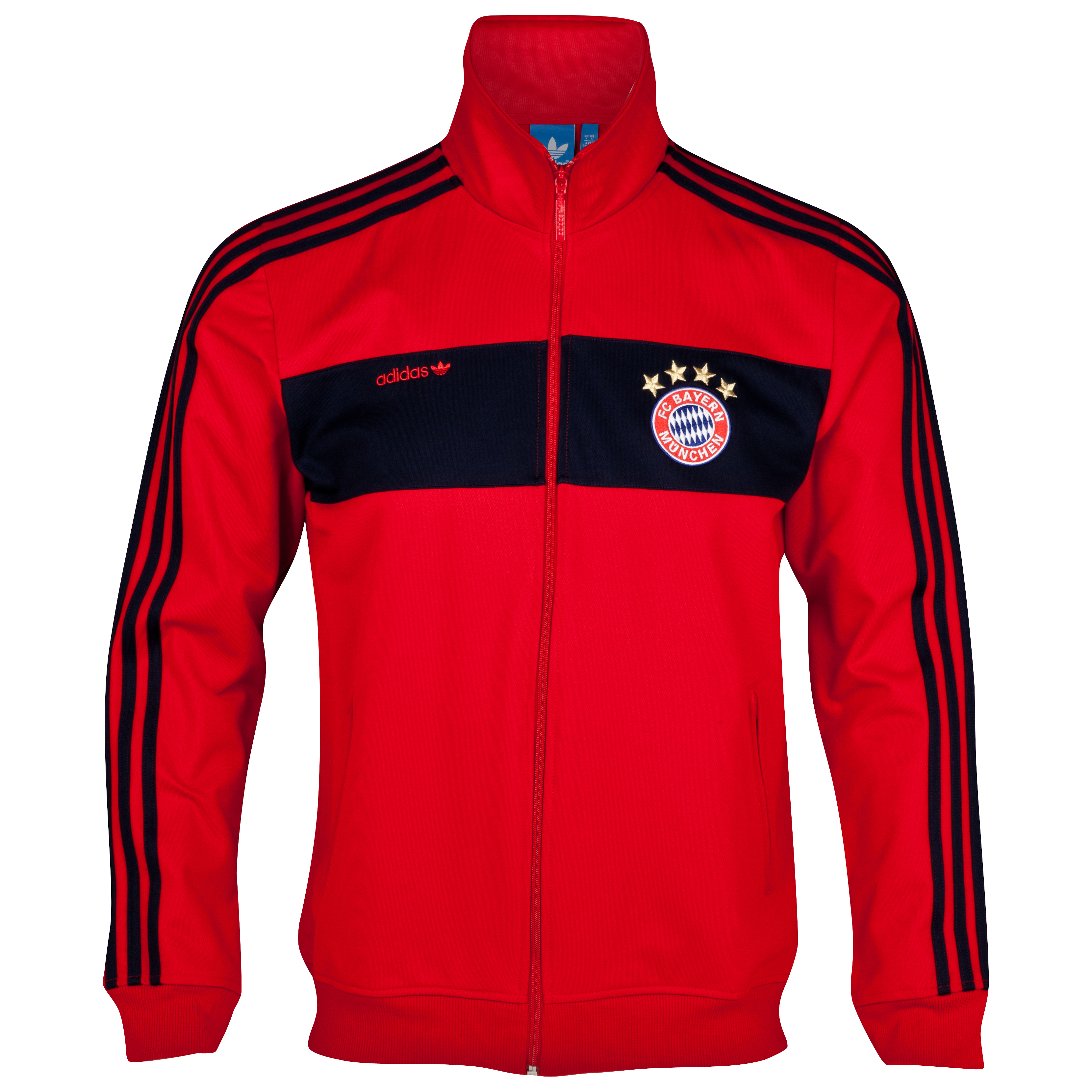 adidas Originals Bayern Munich Beckenbauer Track Top - FCB True Red