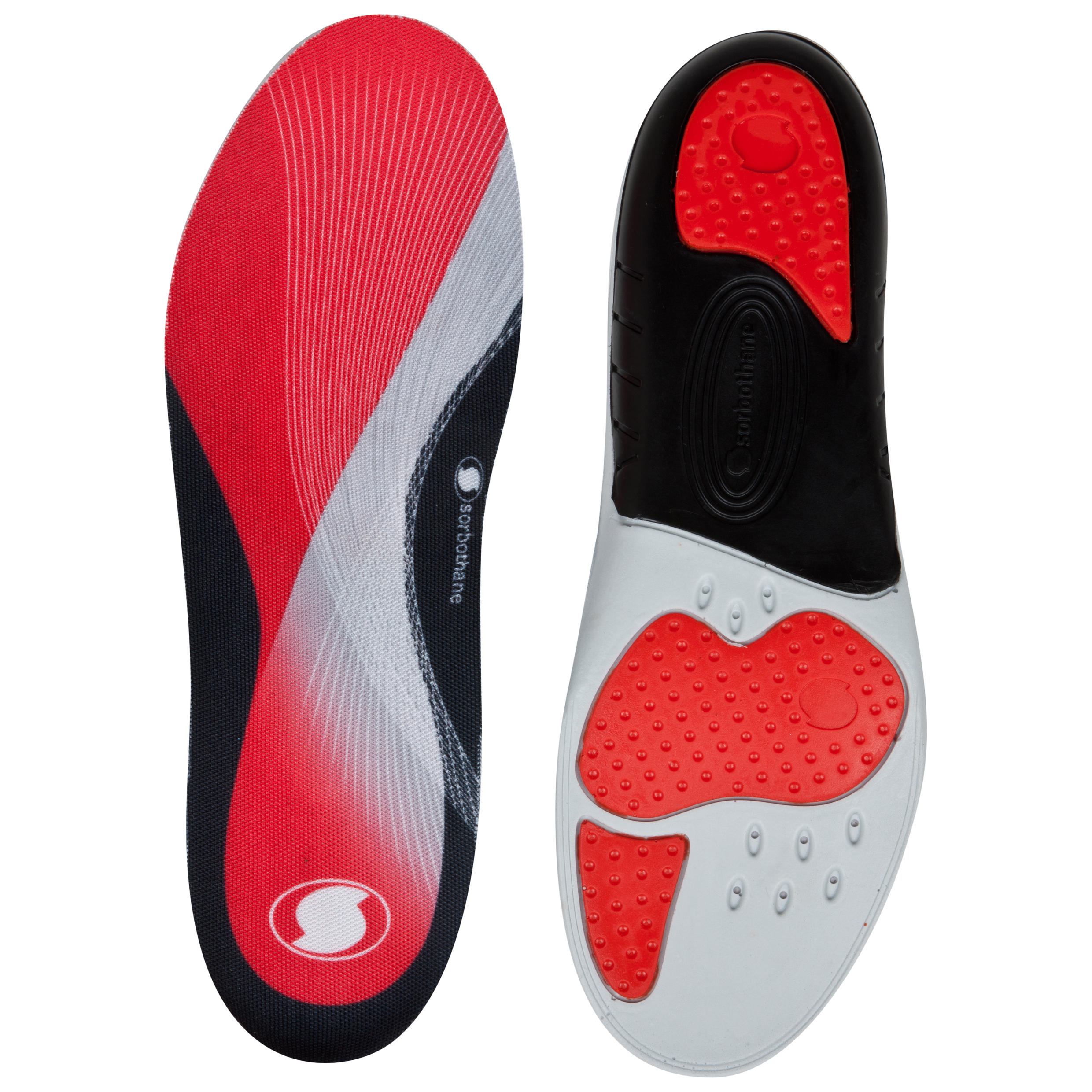 Sorbothane Sorbo Pro Insoles - Red