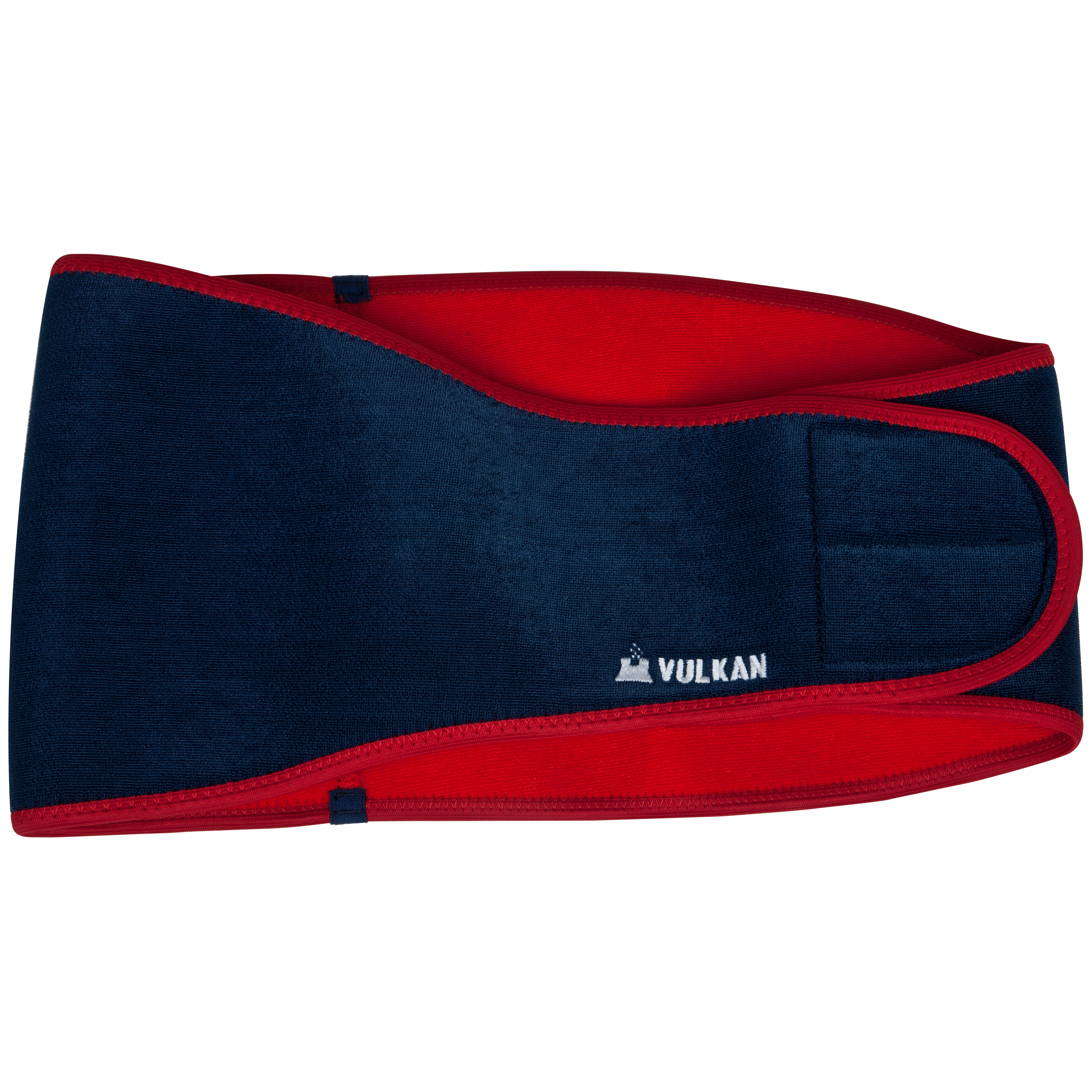 Vulkan Back Support One Size Reinforced - Blue/Red