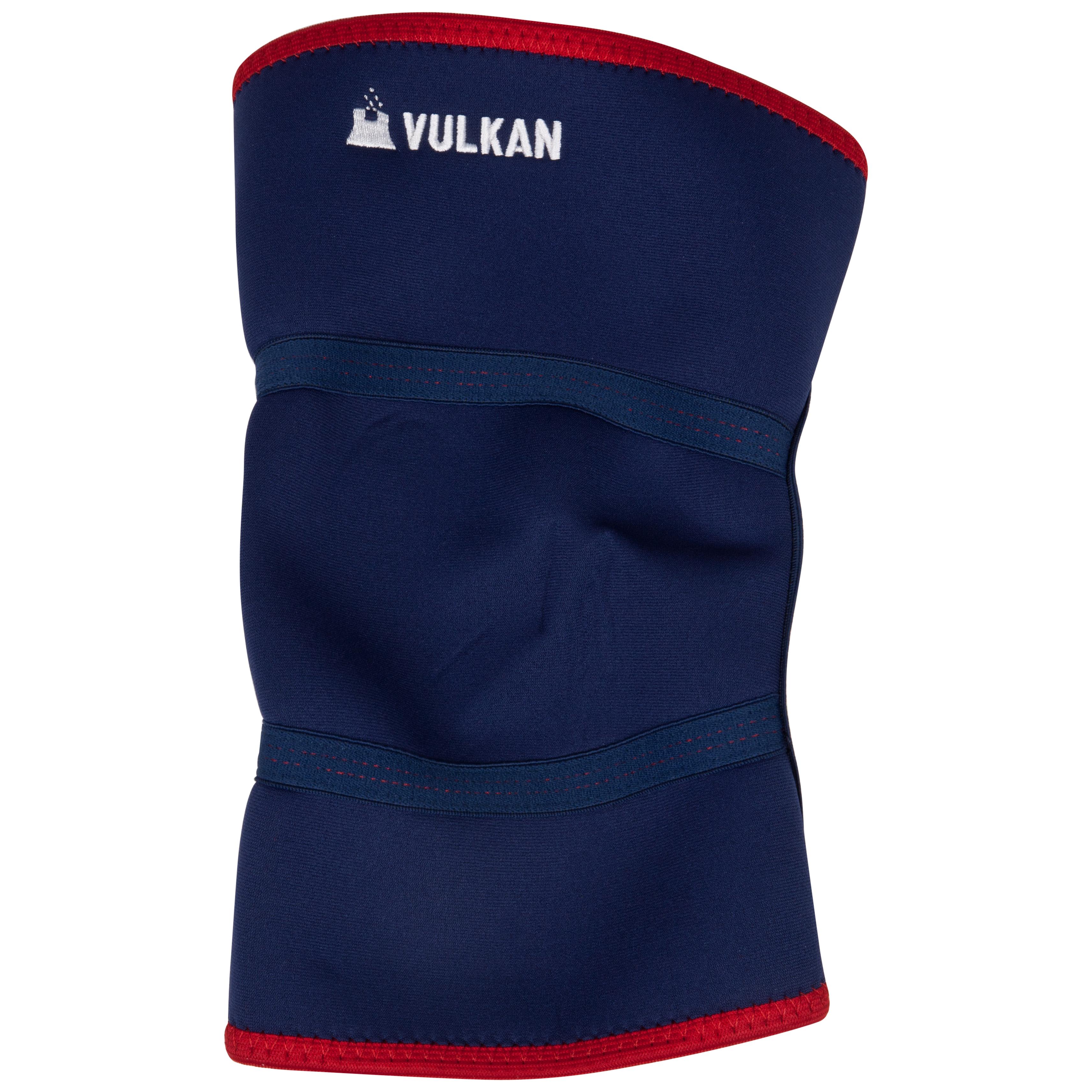 Vulkan 3mm Knee Support - Blue/Red