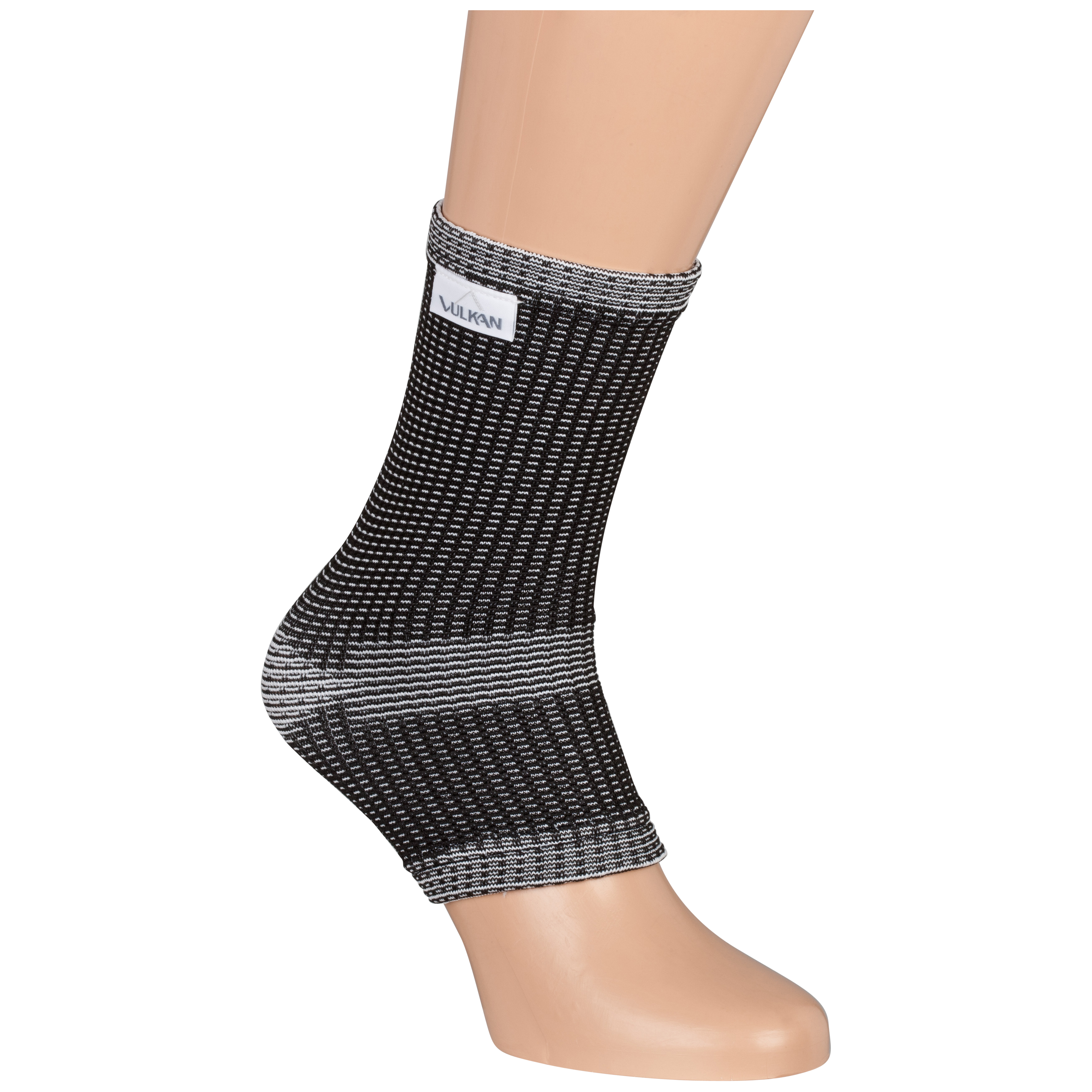 Vulkan Advanced Elastic Ankle Support - Black/Grey