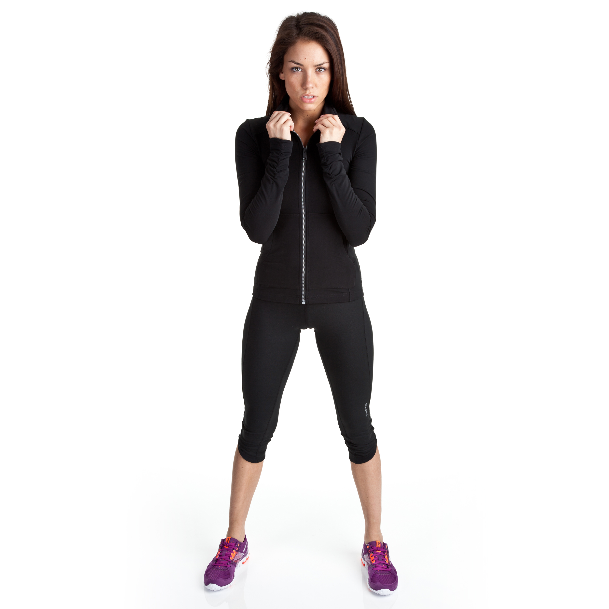 Reebok Sport Essentials 3/4 Tight - Black/Black - Womens