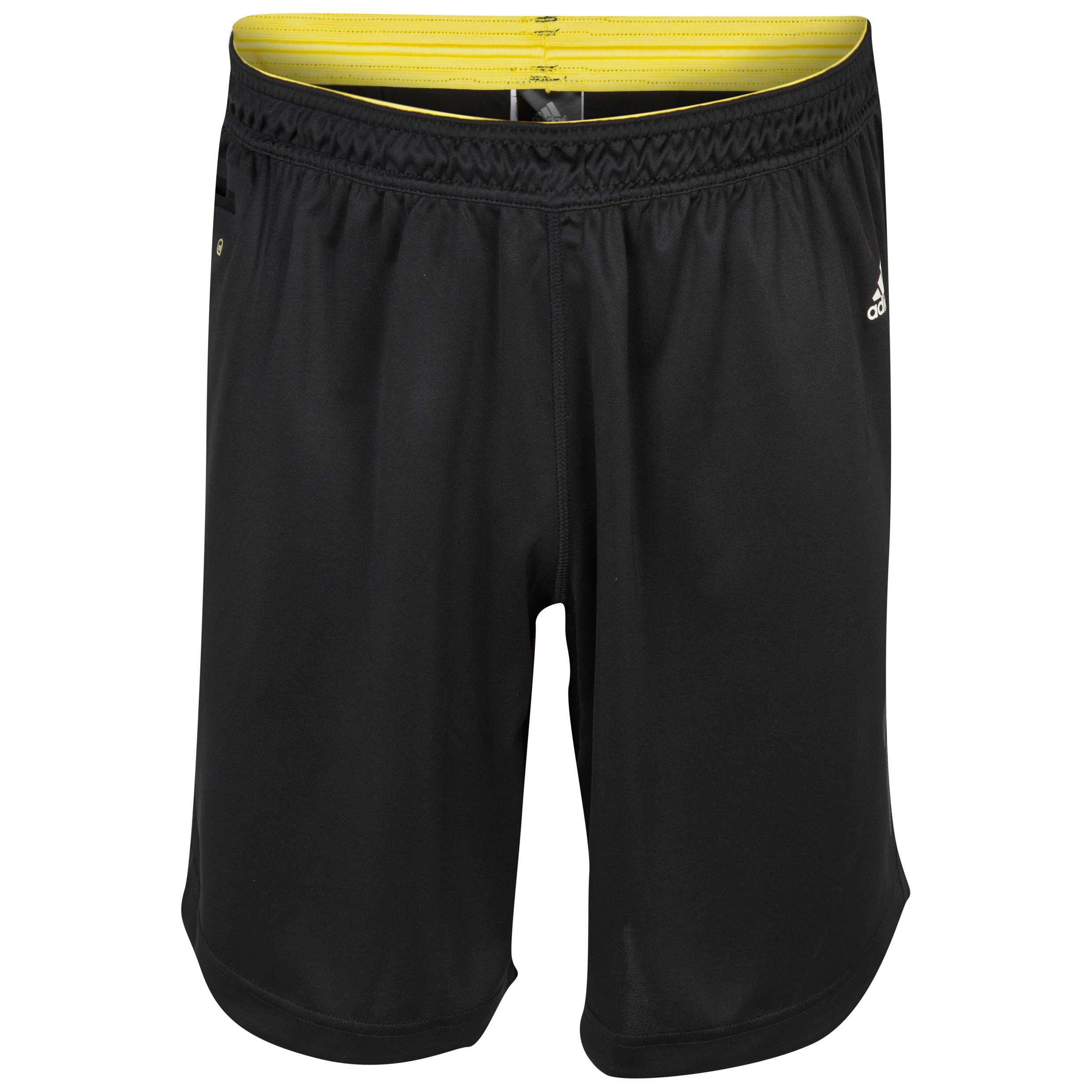 Adidas adiZero Training Short - Black/Haze Yellow