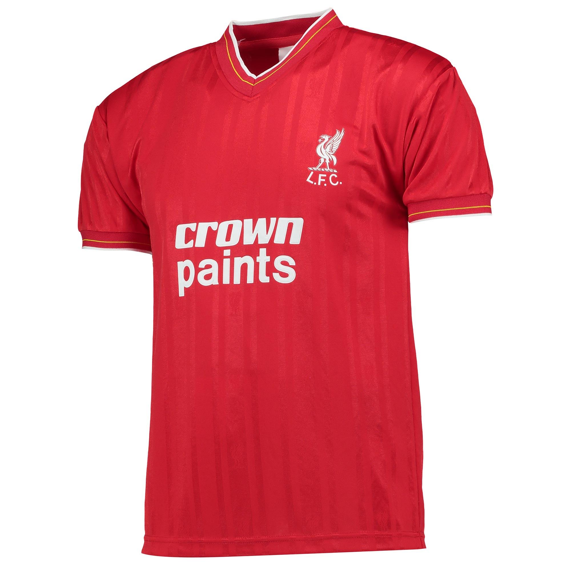 Liverpool 1986 Shirt